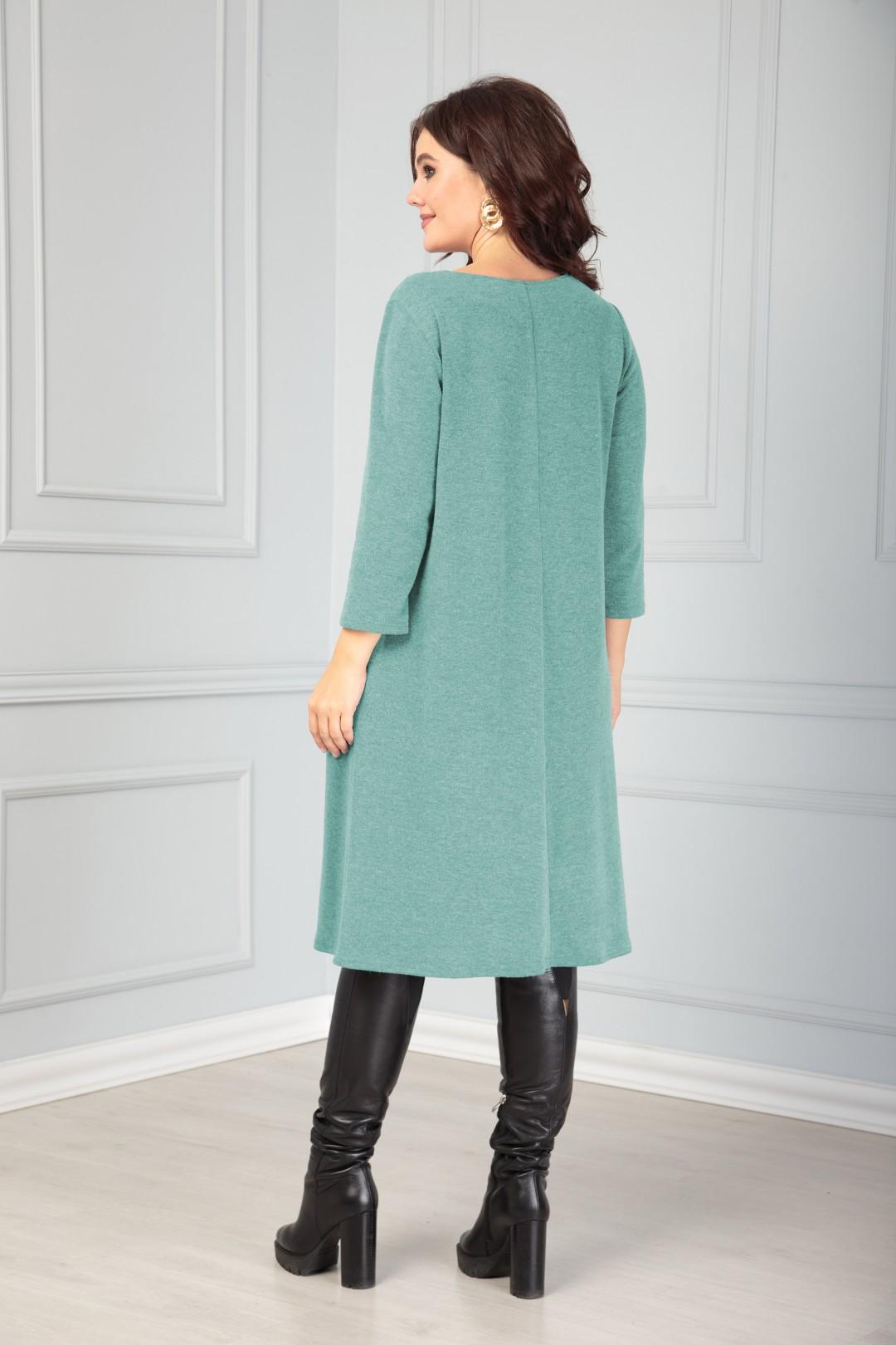 Платье Anastasia 495 мята