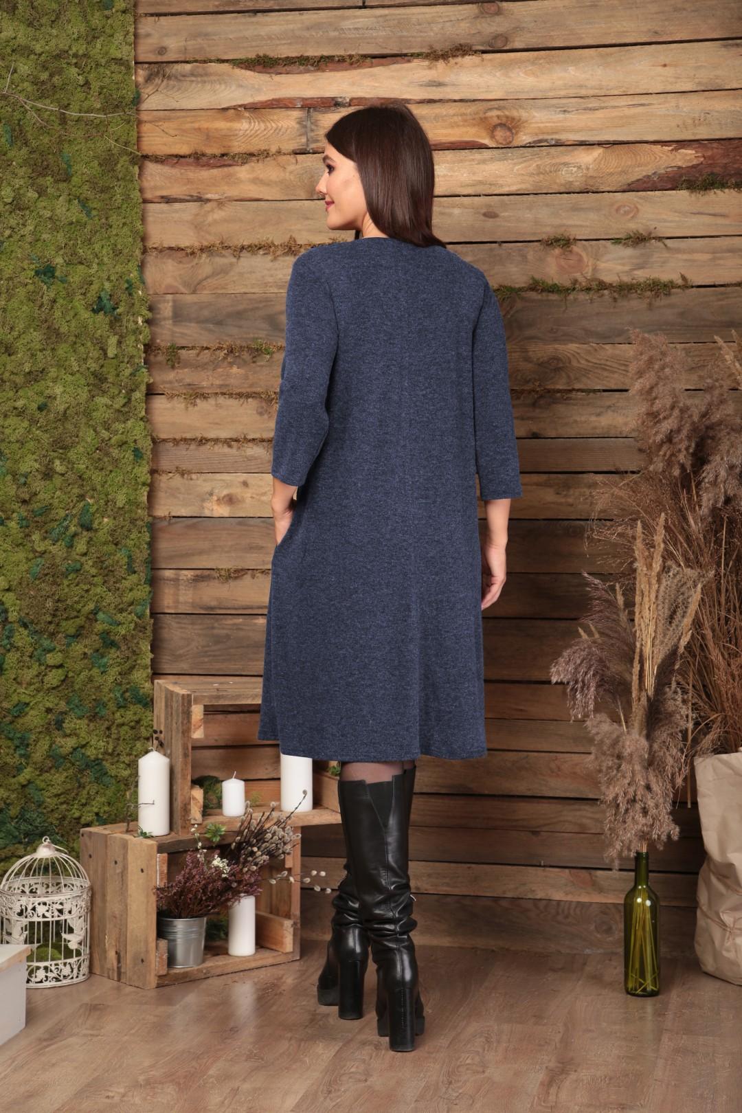 Платье Anastasia 495 синий