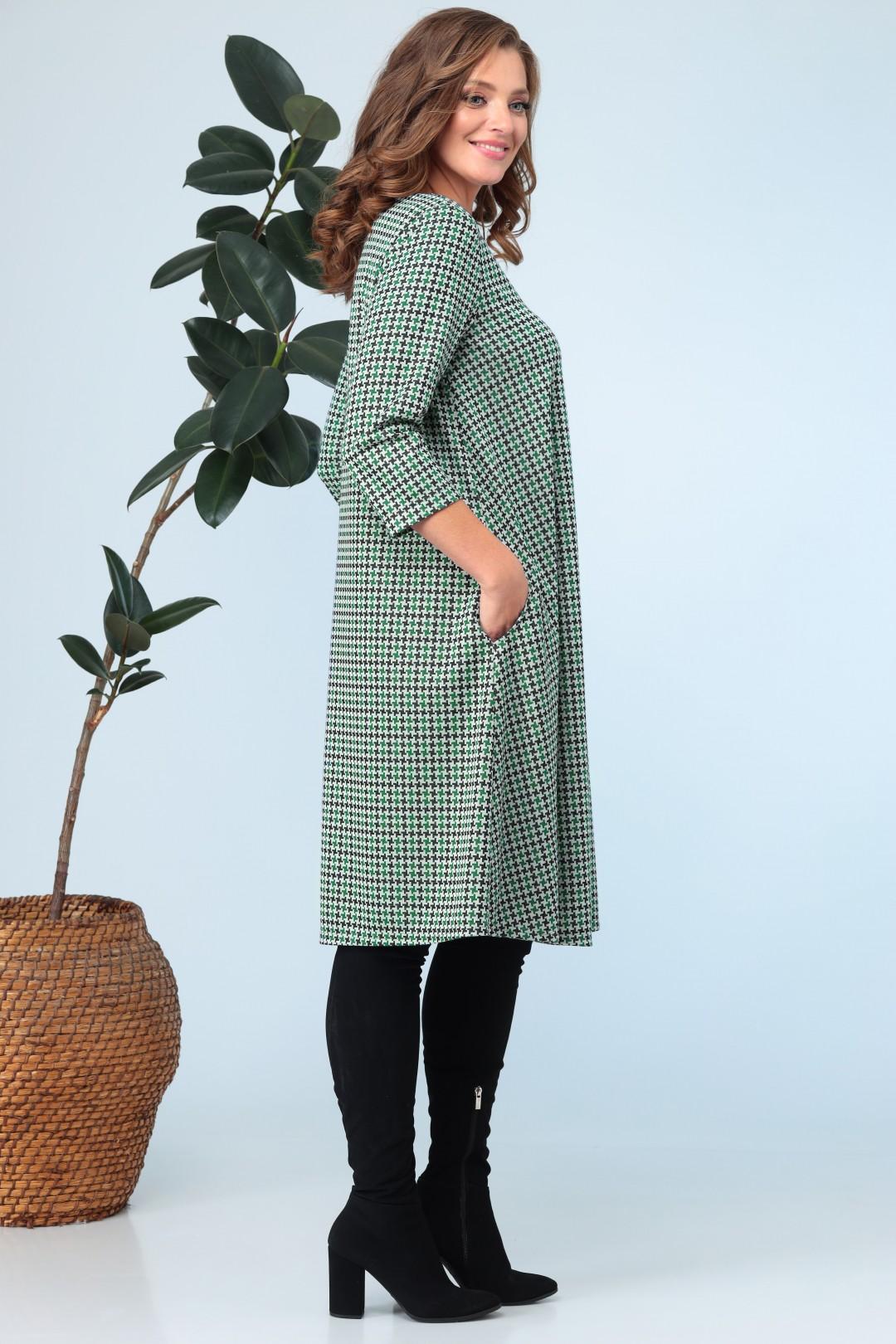 Платье Anastasia 704 зелёный