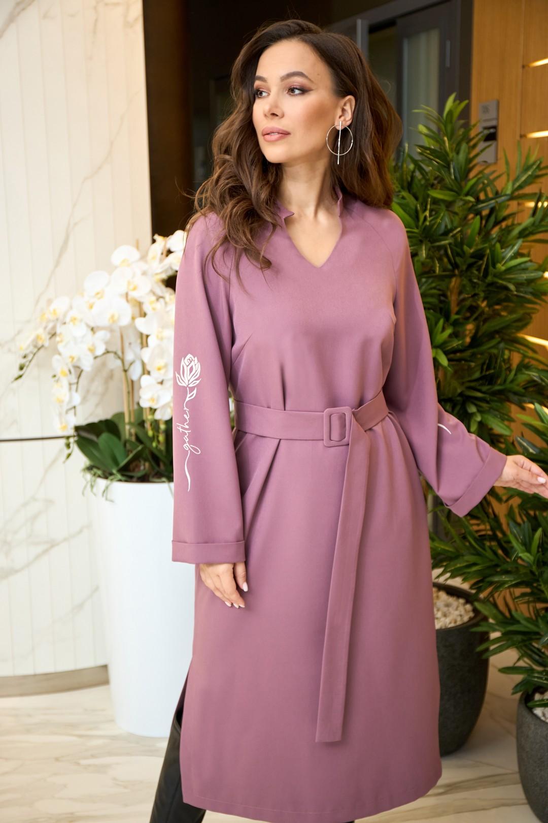 Платье AnastasiaMAK 904 сиреневый