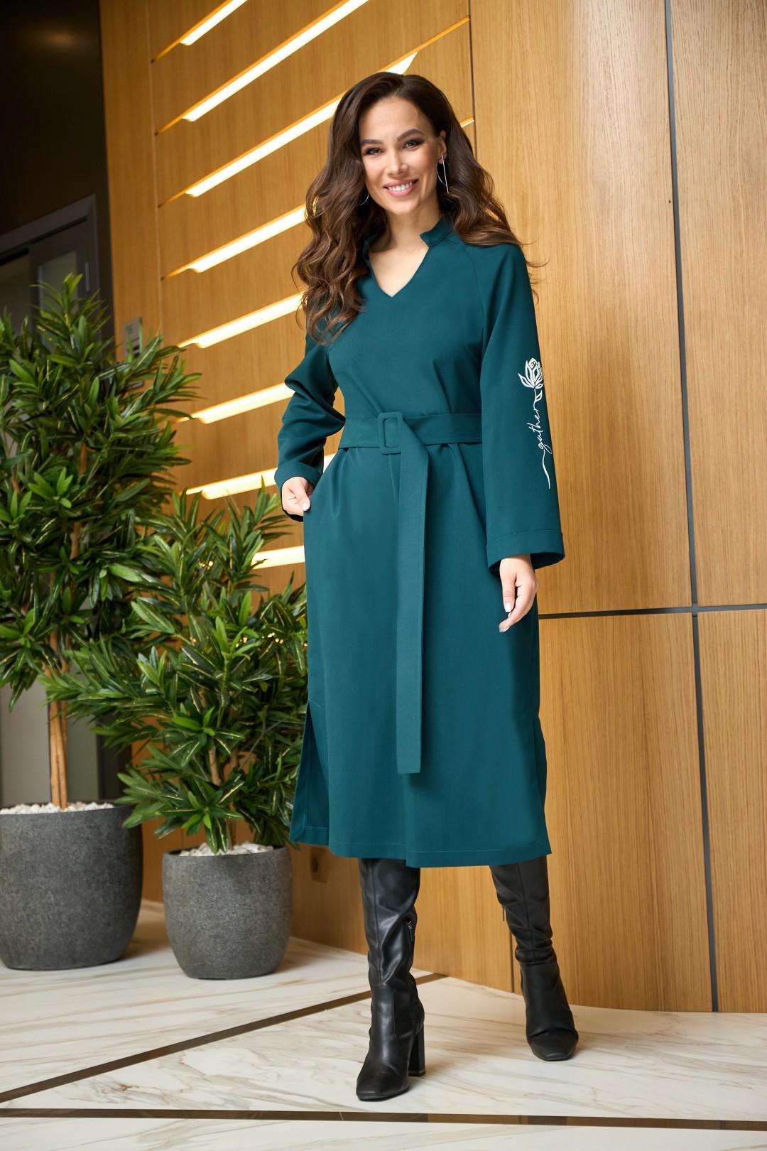 Платье AnastasiaMAK 904 зеленый