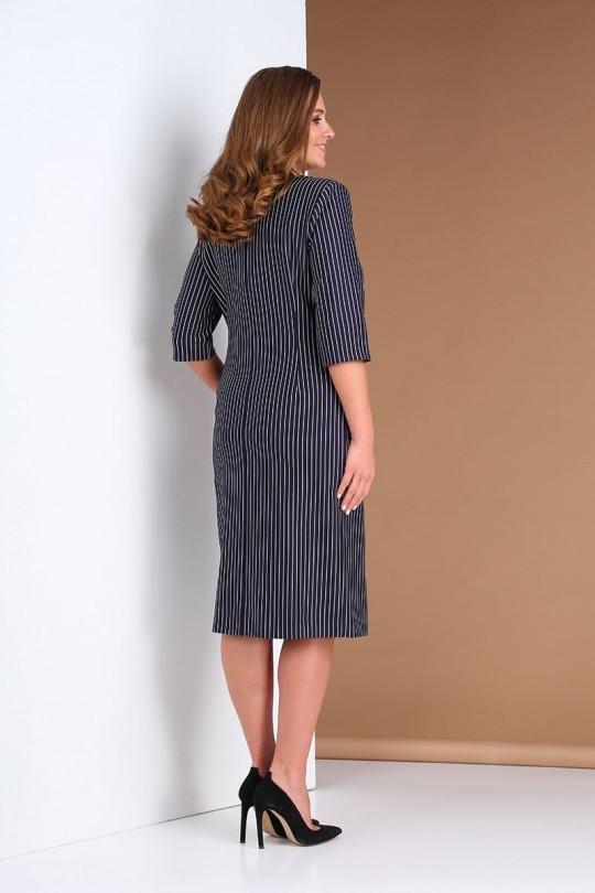 Платье AndreaStyle 0399 синий