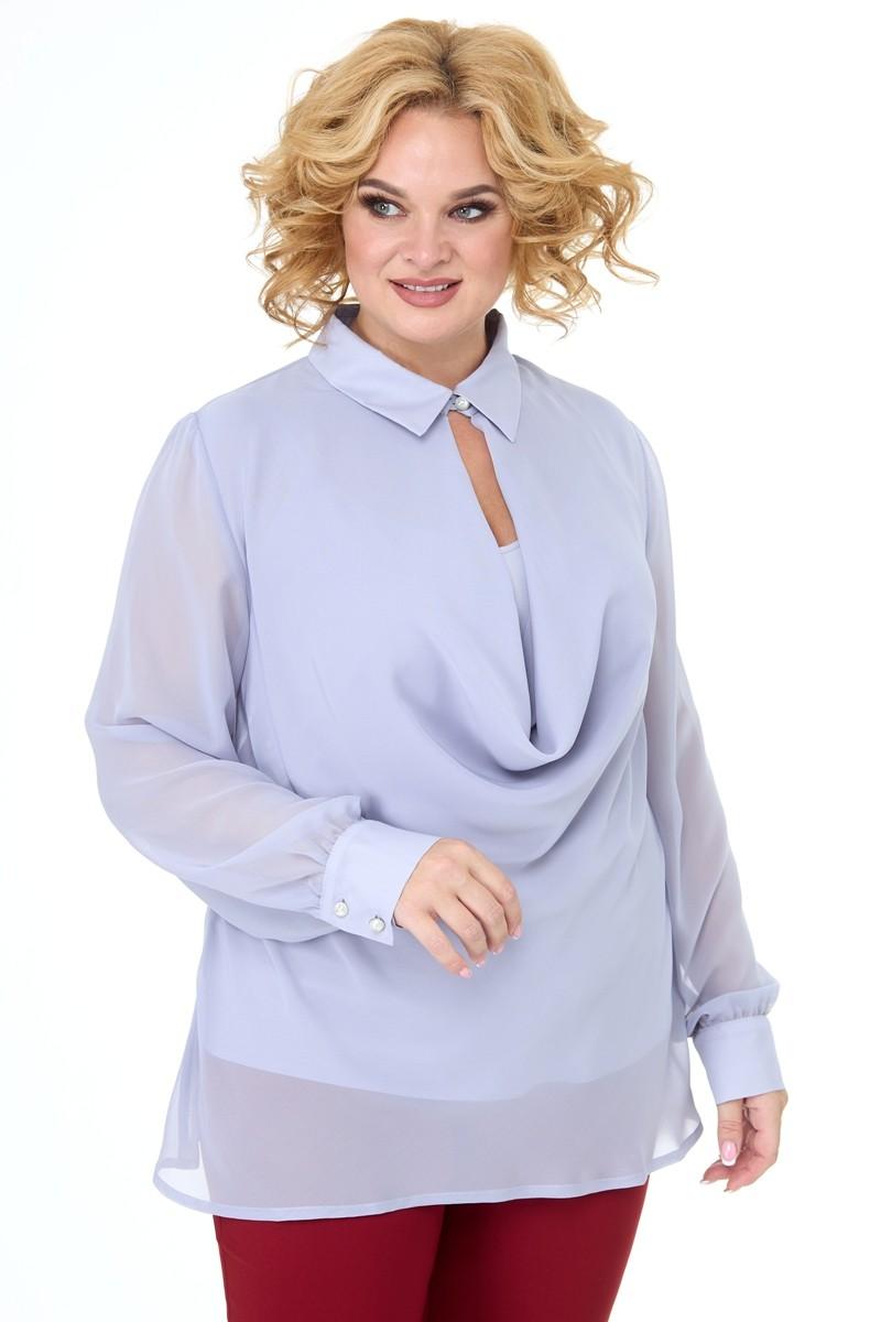 Блузка Anelli 1087 серый