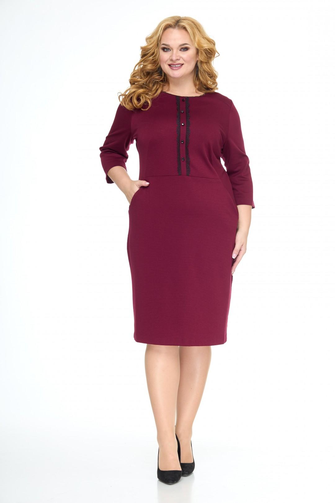Платье Anelli 552 черешня