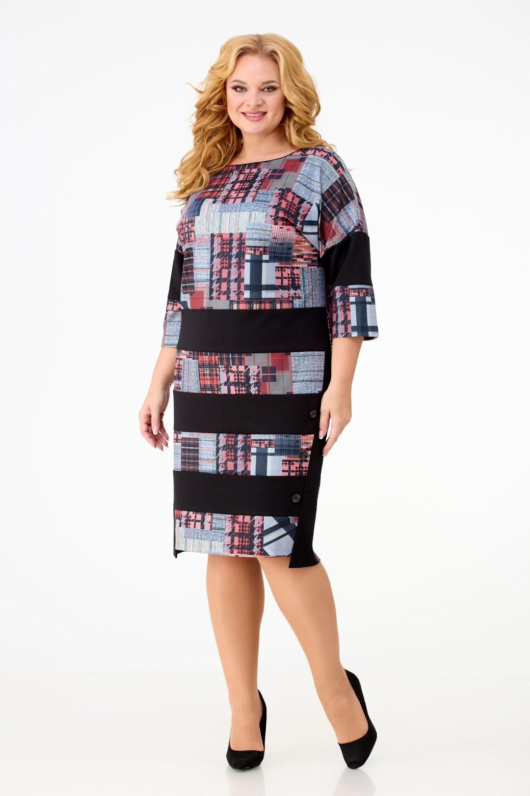 Платье Anelli 945 геометрия