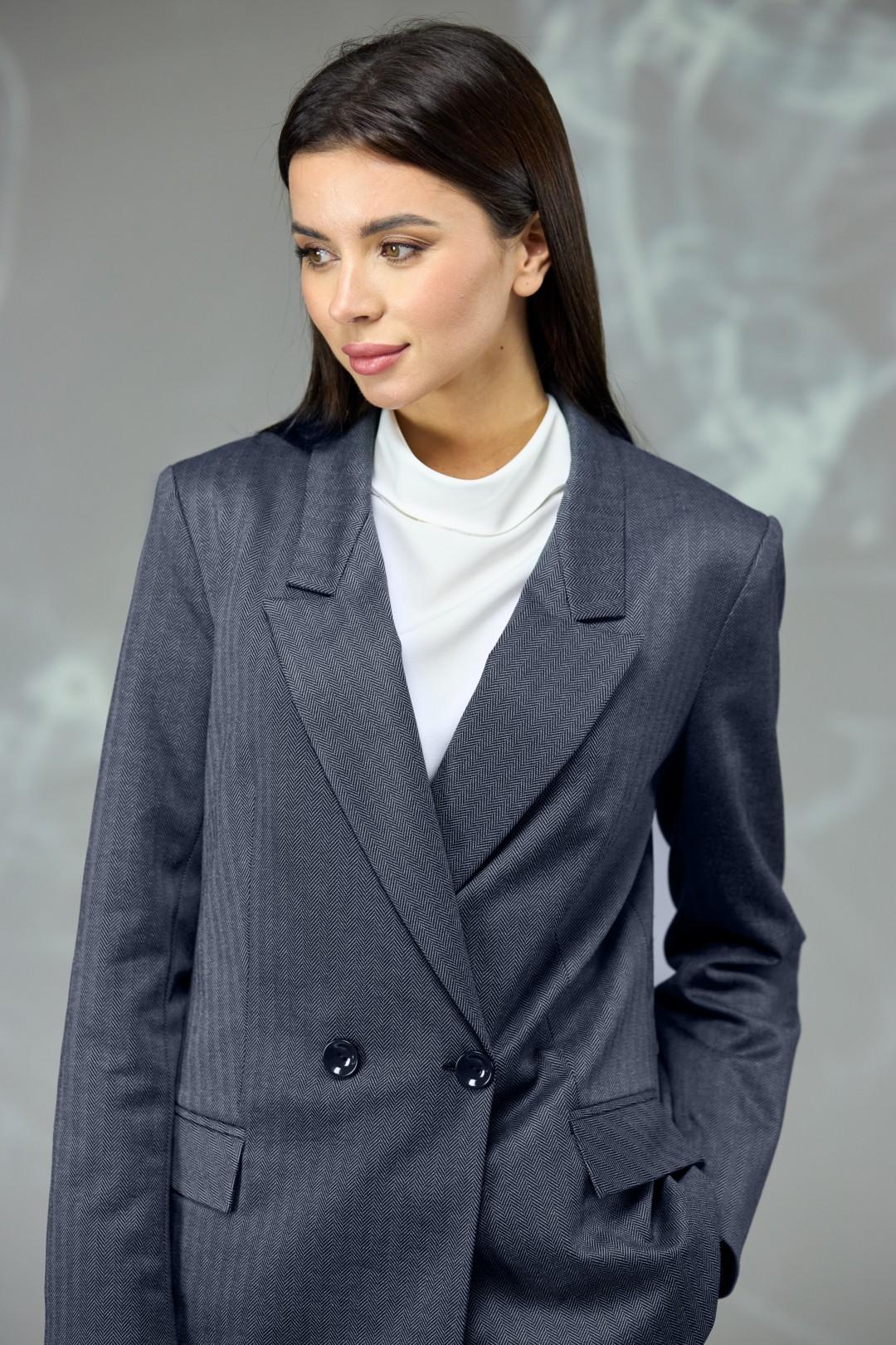 Костюм Angelina & Company 595 темно-синяя елочка