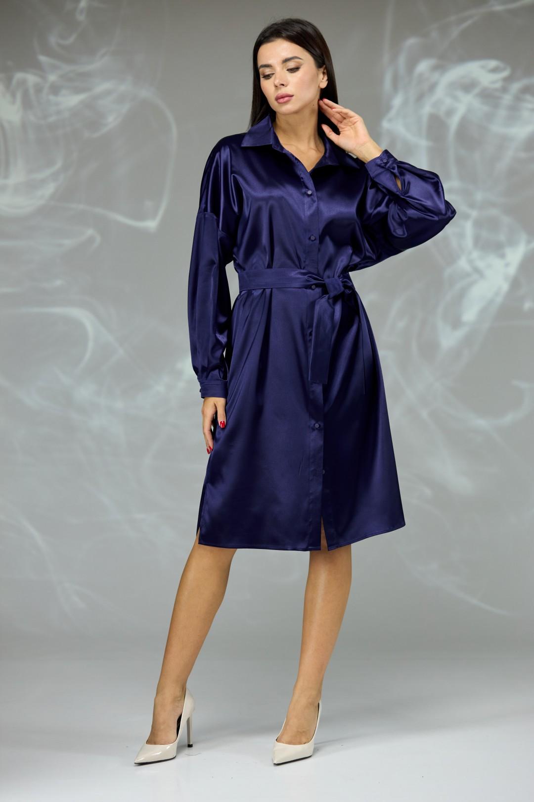 Платье Angelina & Company 602s синее