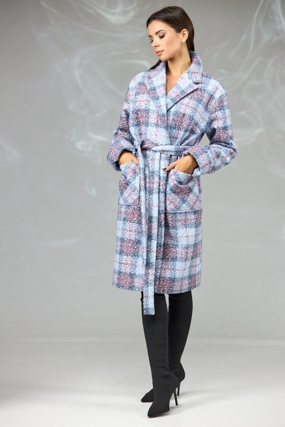 Пальто Angelina & Company 603 клетка