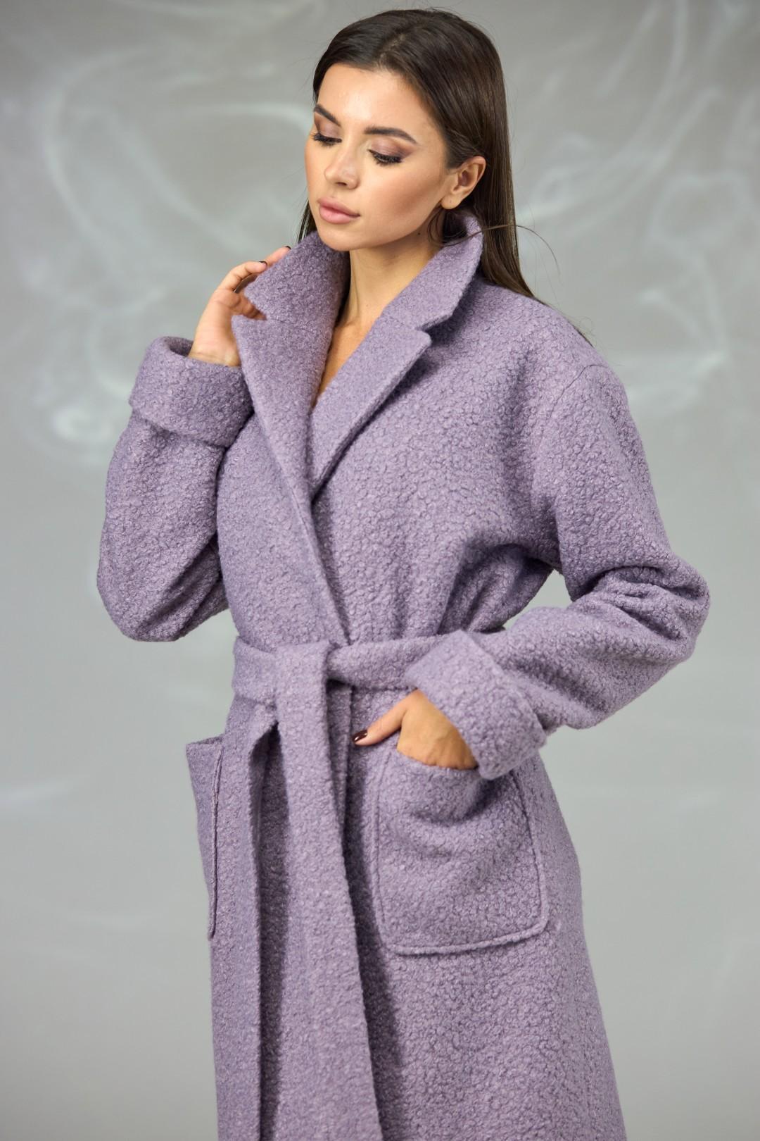 Пальто Angelina & Company 604 сирень