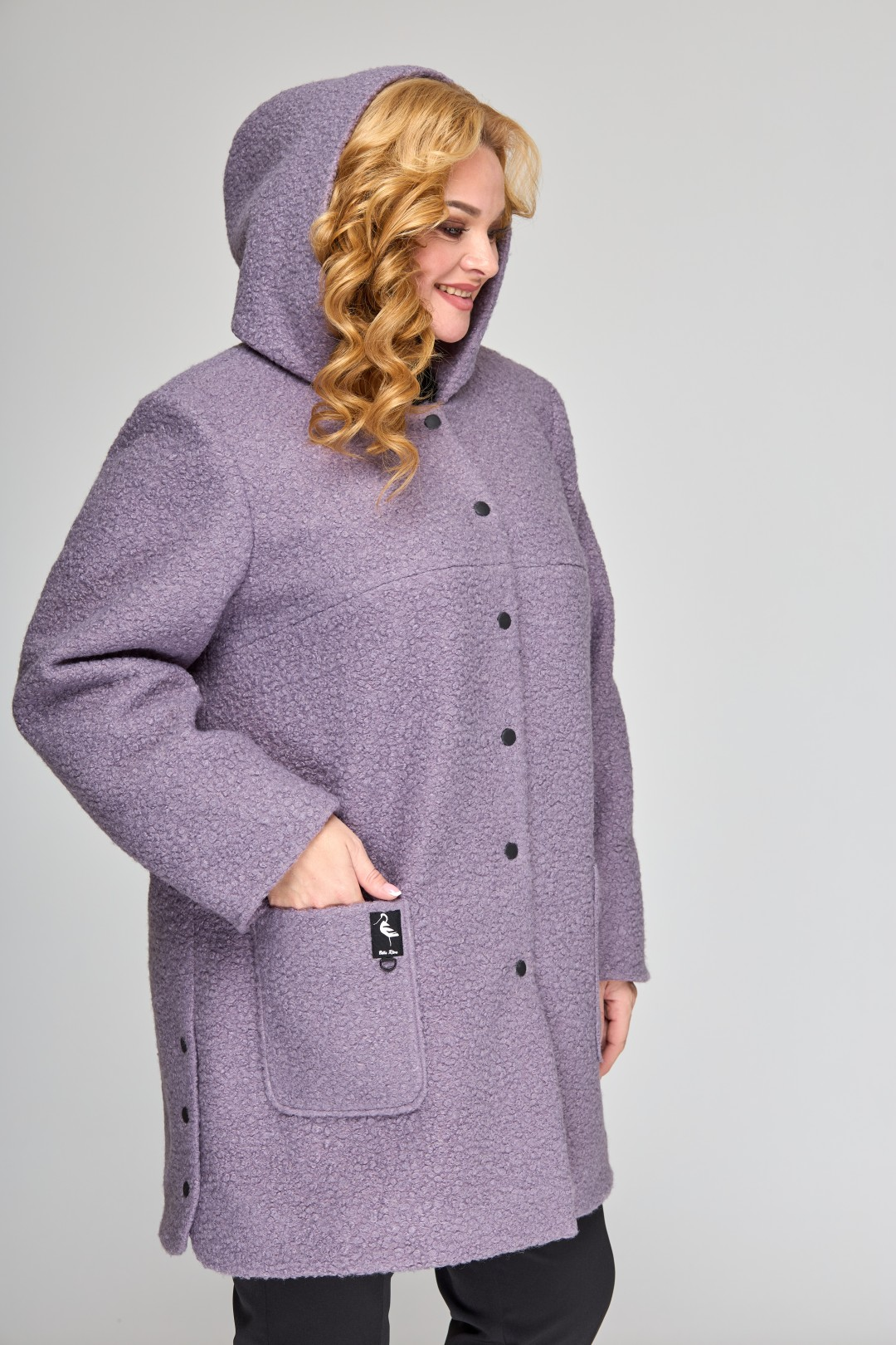 Пальто Angelina & Company 606 сирень