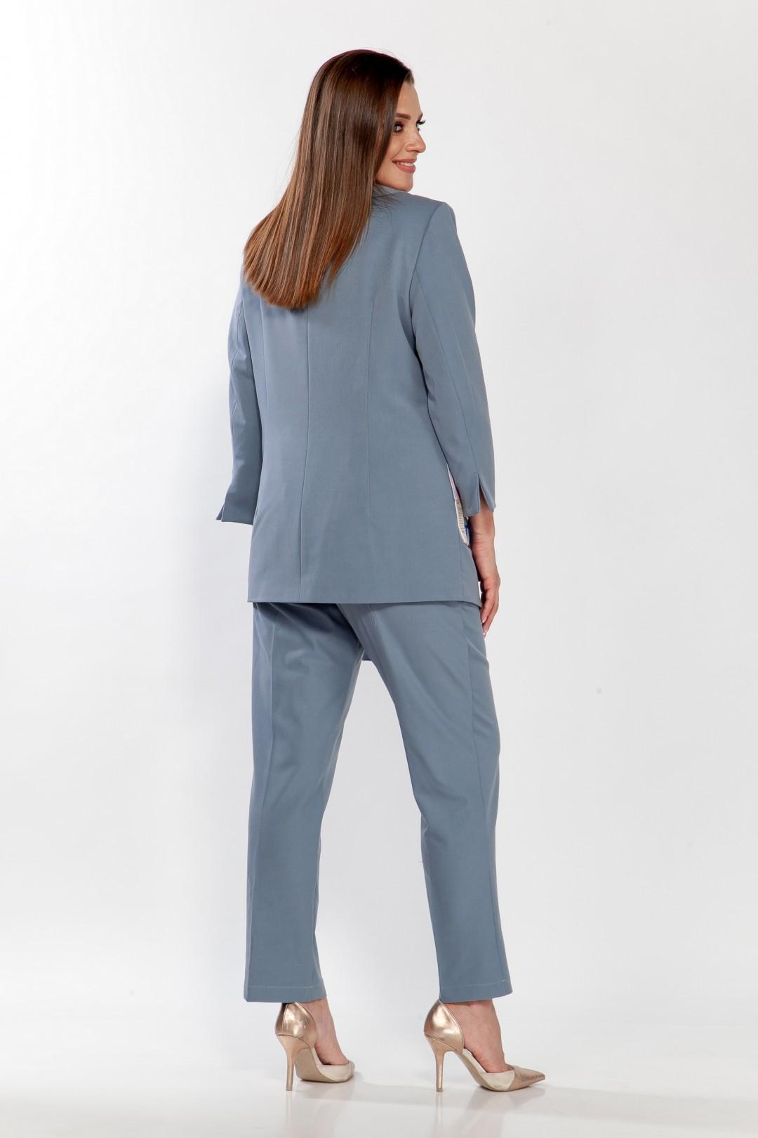 Жакет Belinga 5115 серо-голубой
