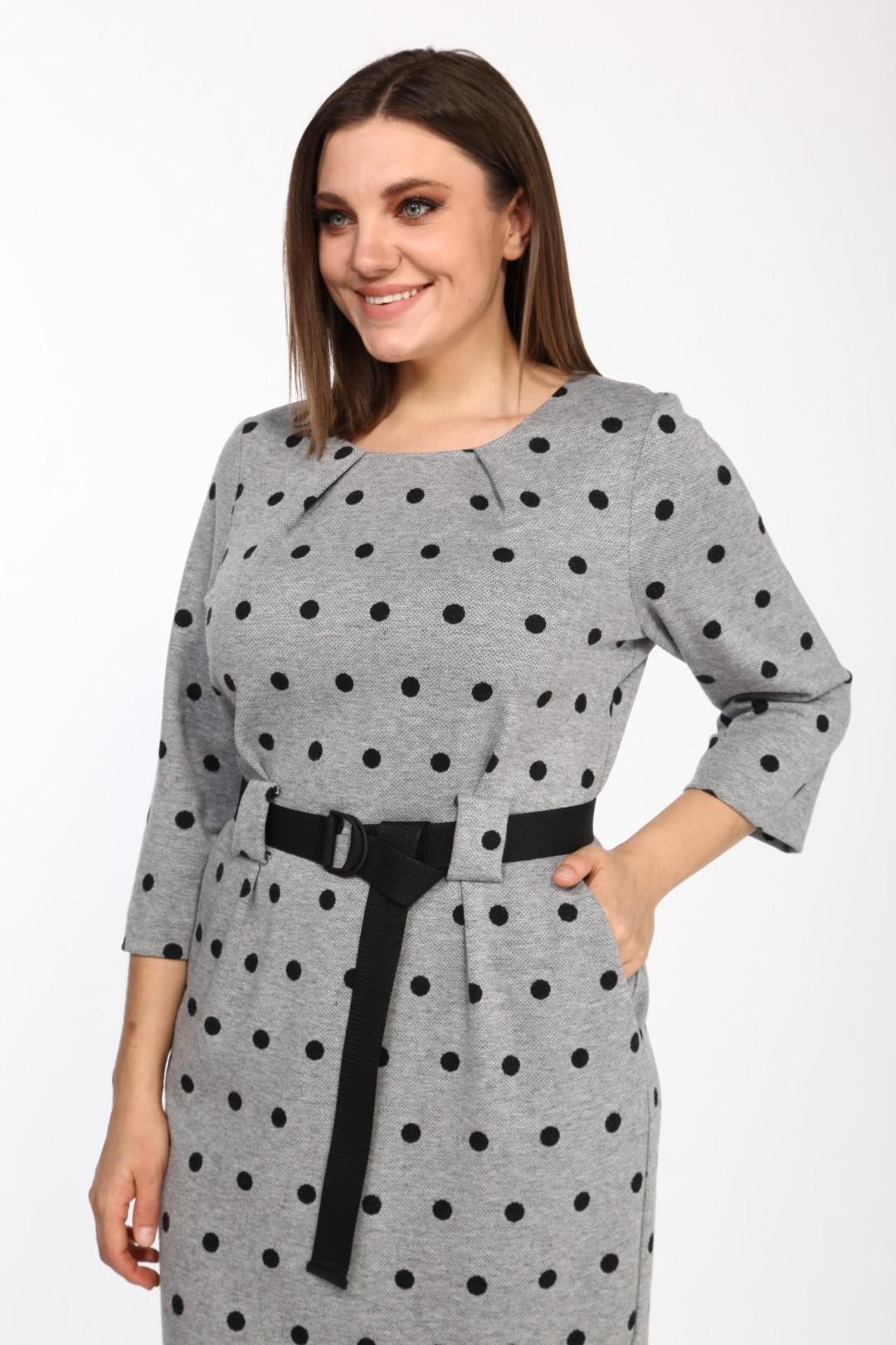Платье BonnaImage 644 светло-серый