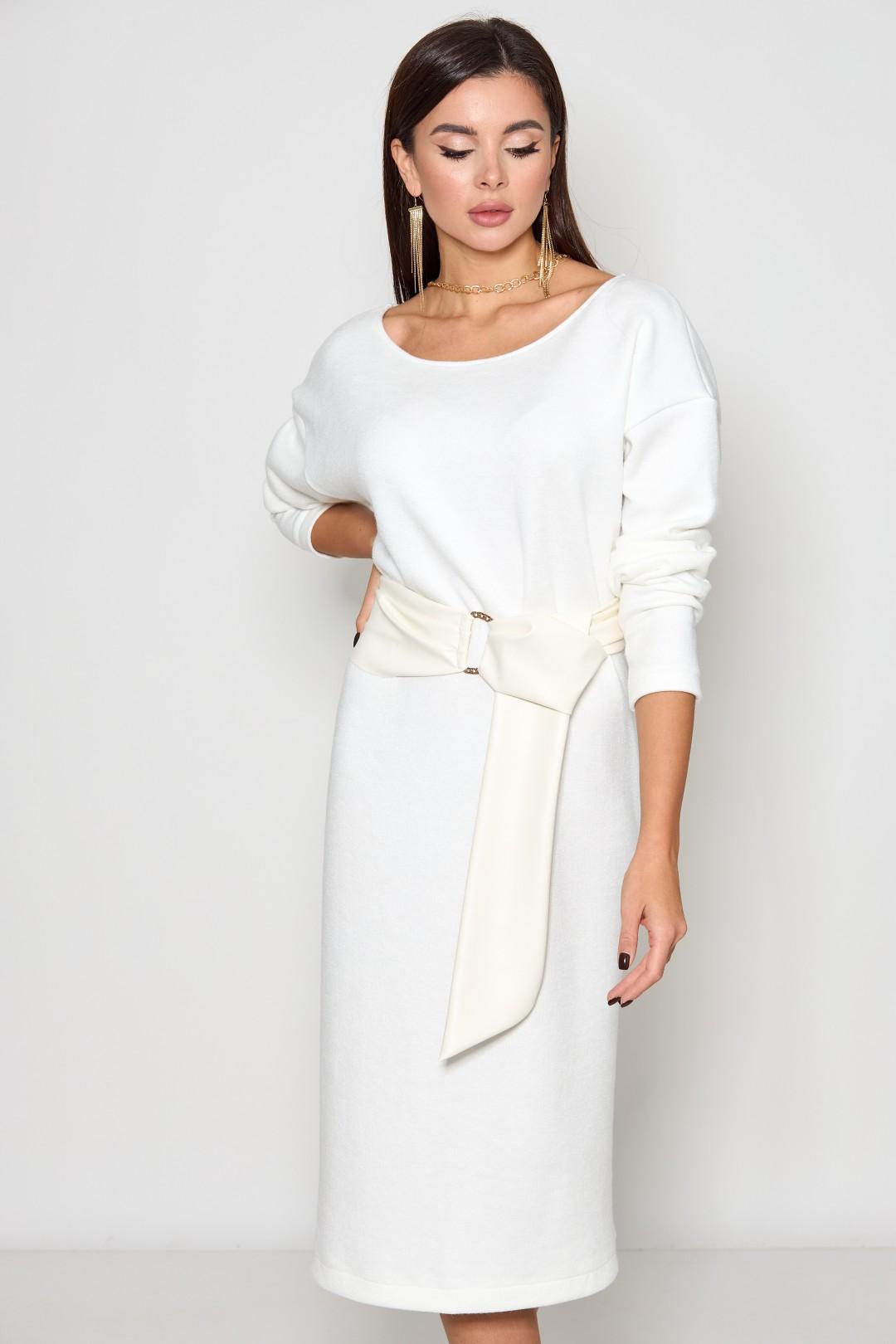 Платье Chumakova Fashion 223 молочный