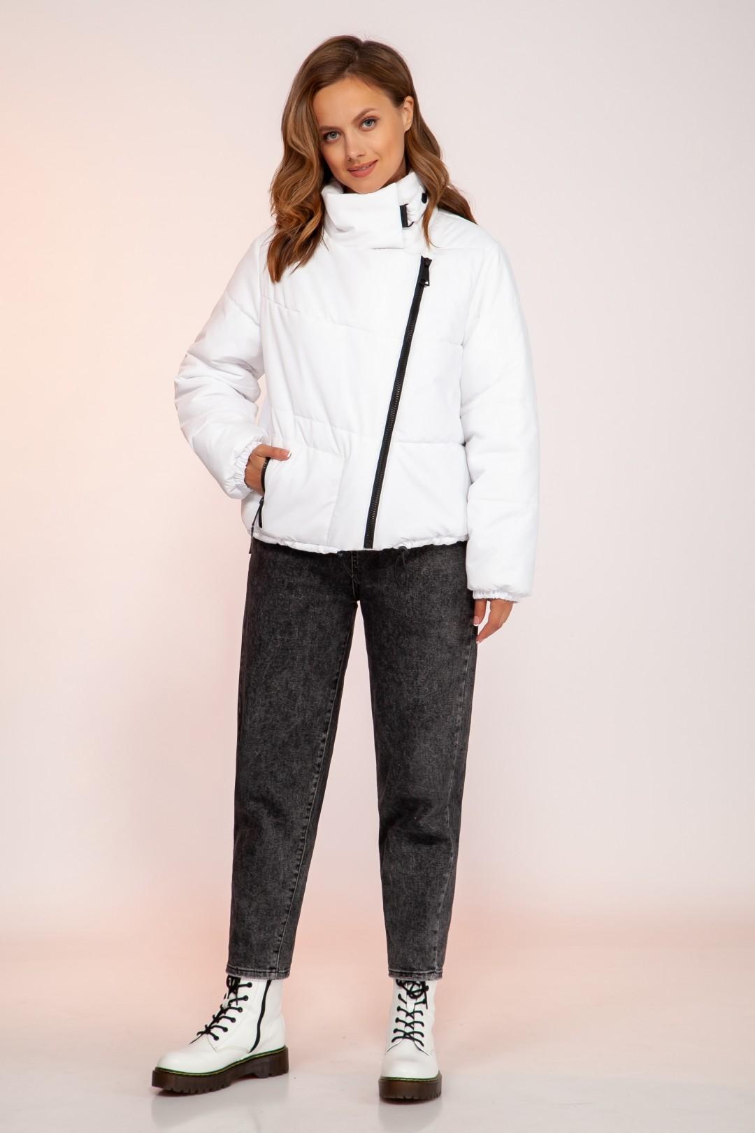 Куртка DilanaVIP 1753 белый