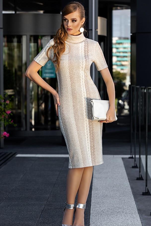 Платье Дива 1350 беж