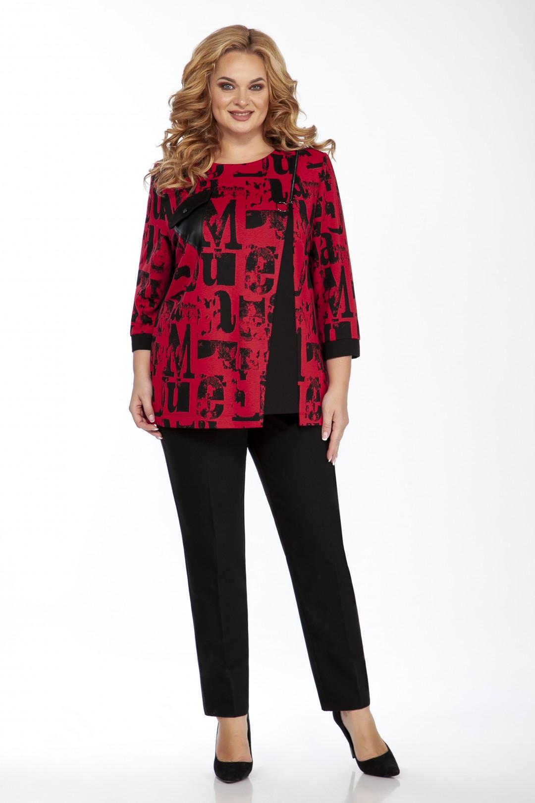 Блуза EMILIA STYLE 2099.1 красный