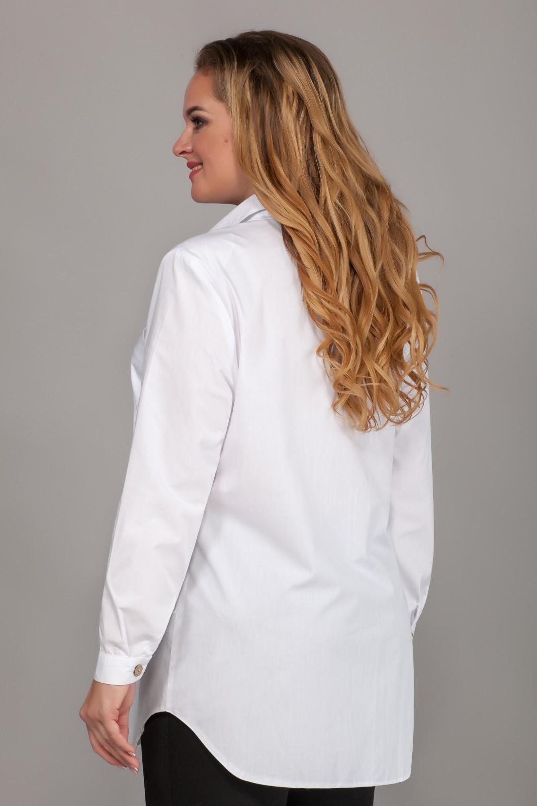 Блузка Emilia 483/3 белый