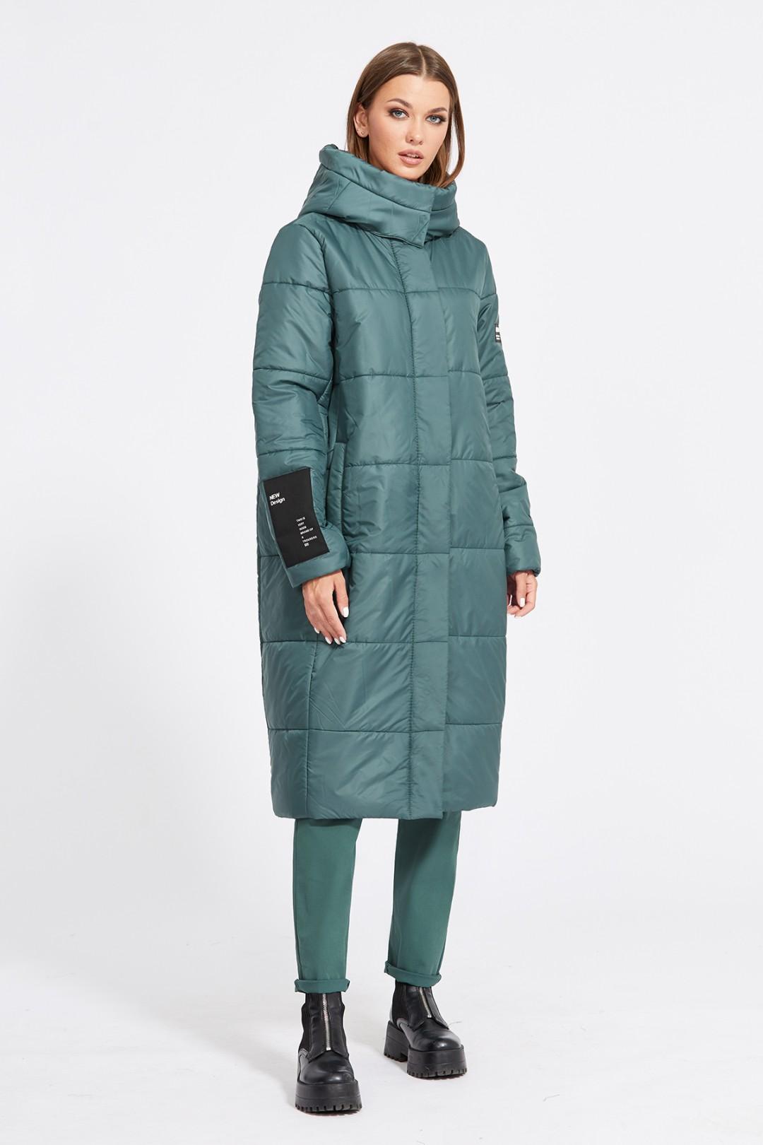 Пальто Эола Стиль 2079 изумрудный