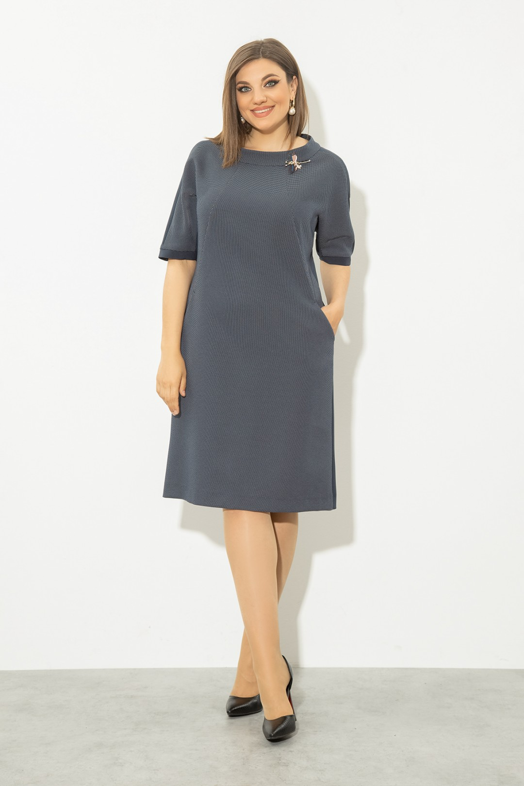 Платье JeRusi 2121 синий