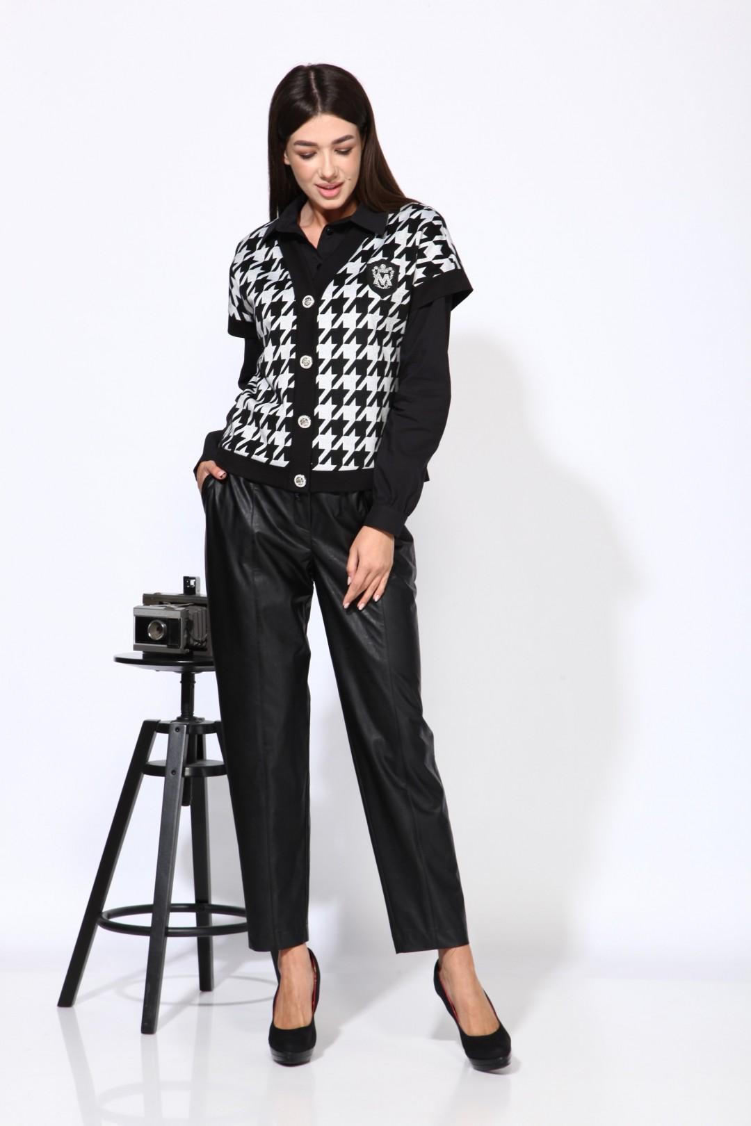 Комплект Карина Делюкс М-9936Б черно-серый
