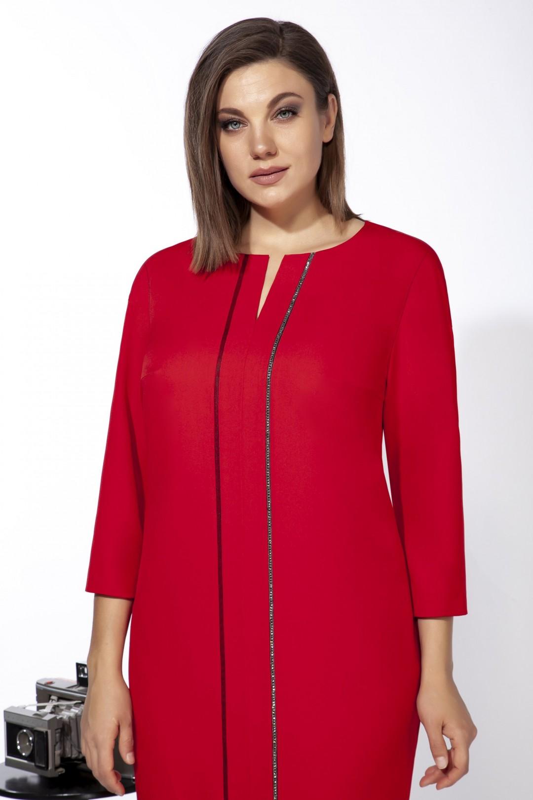 Платье Карина Делюкс М-9938 красный