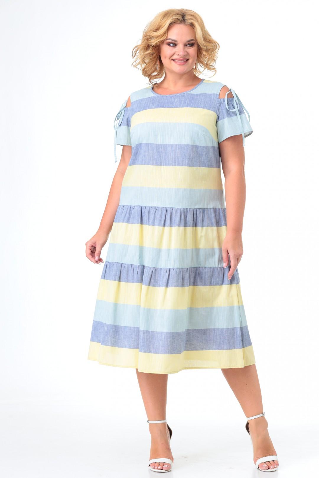 Платье Кэтисбел 1549 желтый
