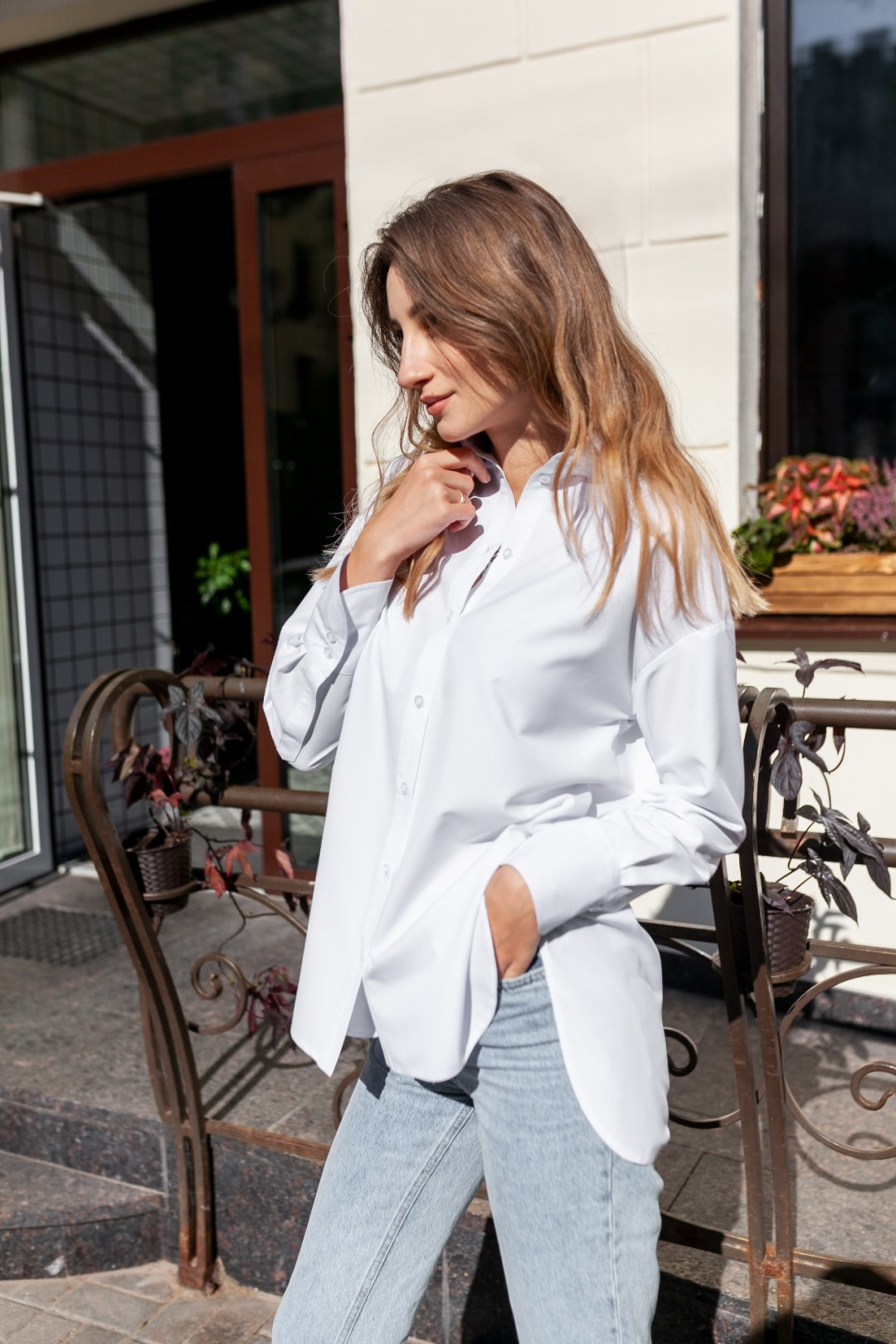 Рубашка KRASA 207-21 белый