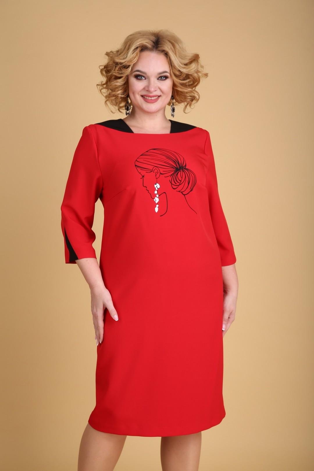 Платье KseniaStylе 1940 красный