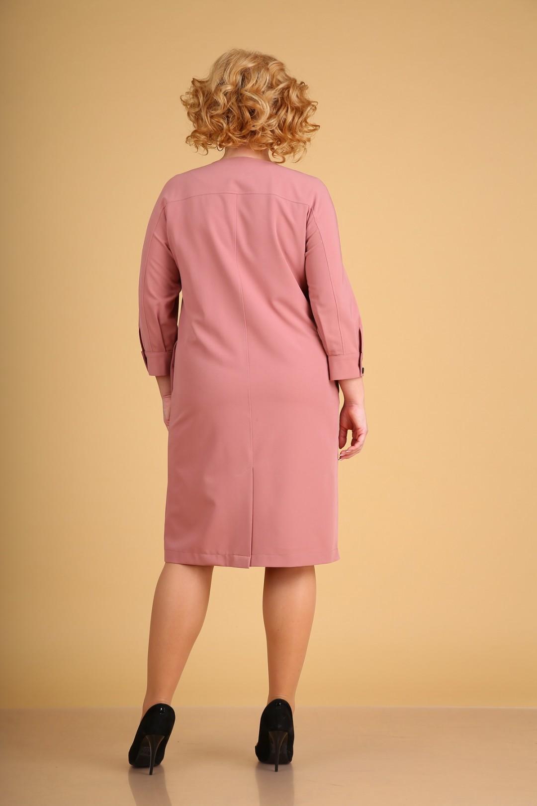 Платье KseniaStylе 1942 розовый