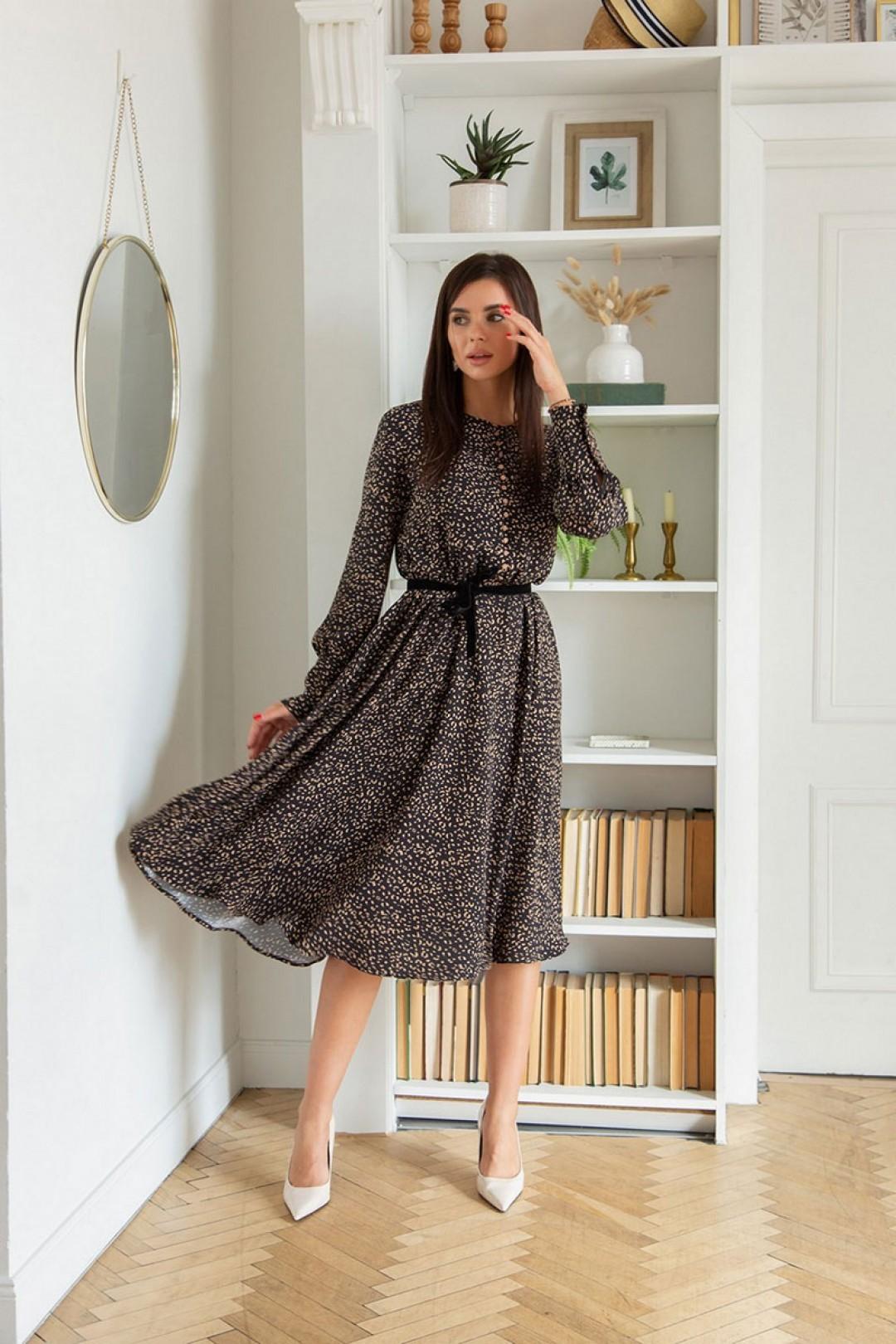 Платье ЛадисЛайн 1394 черный