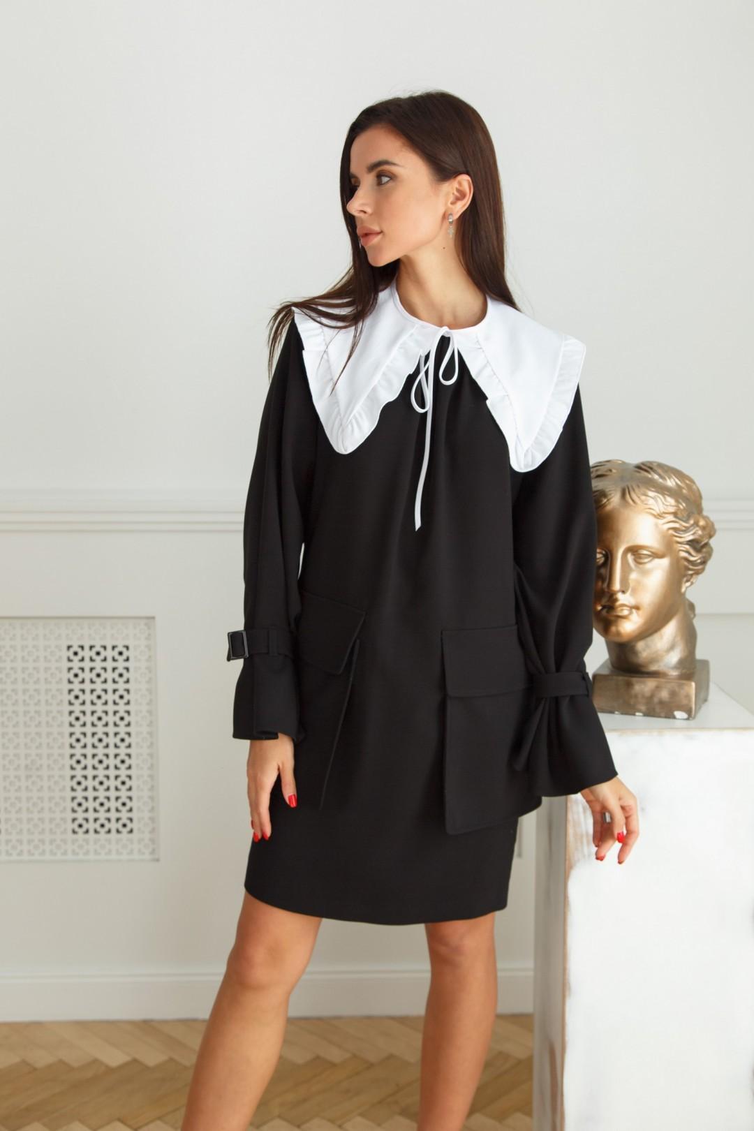 Платье ЛадисЛайн 1402 черный