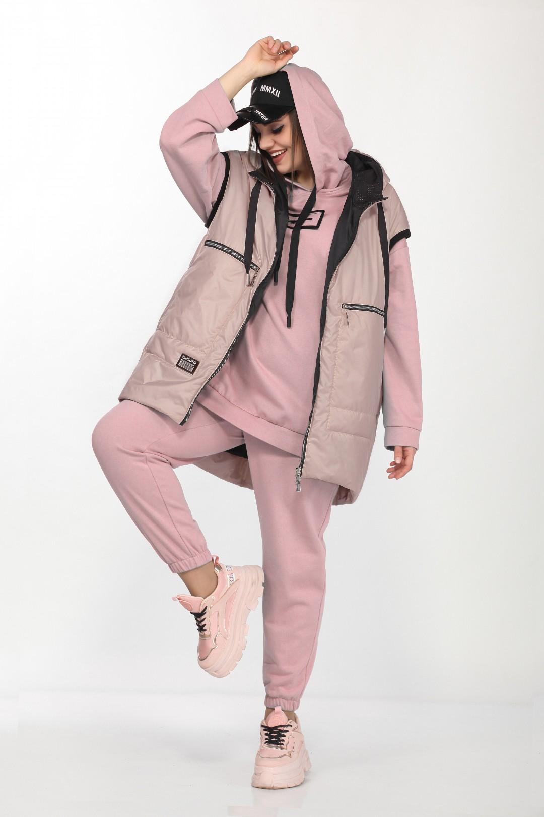 Костюм LadySecret 4002 розовый+бежево-розовый