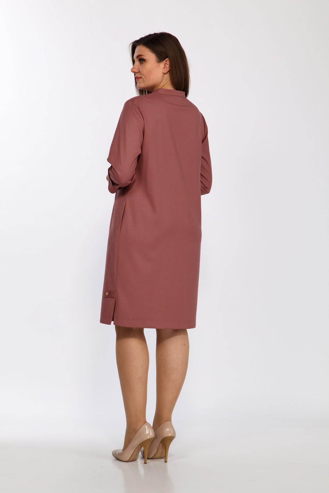 Платье LadyStyleClassic 2496 лиловый