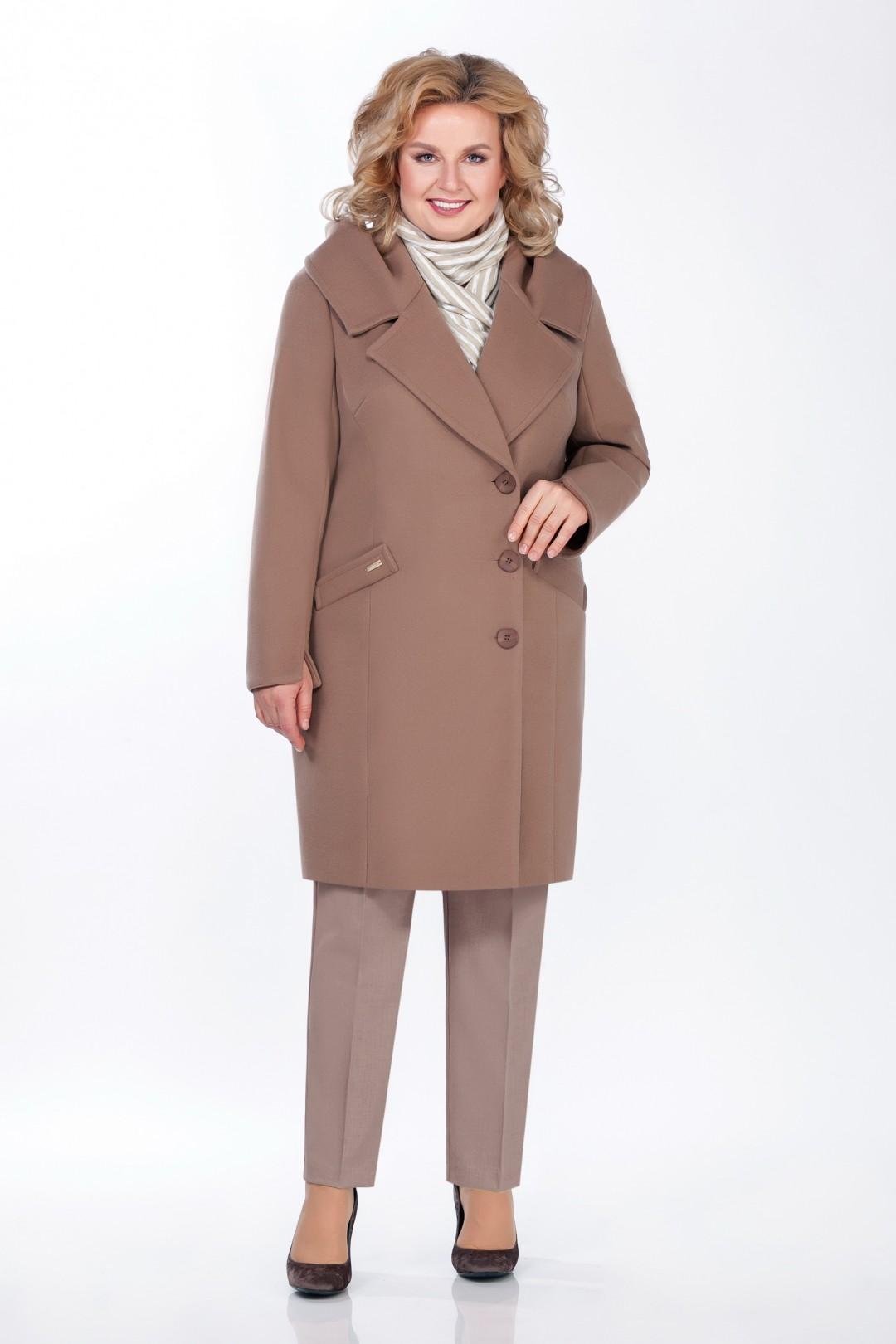 Пальто LaKona 1260 мокаччино