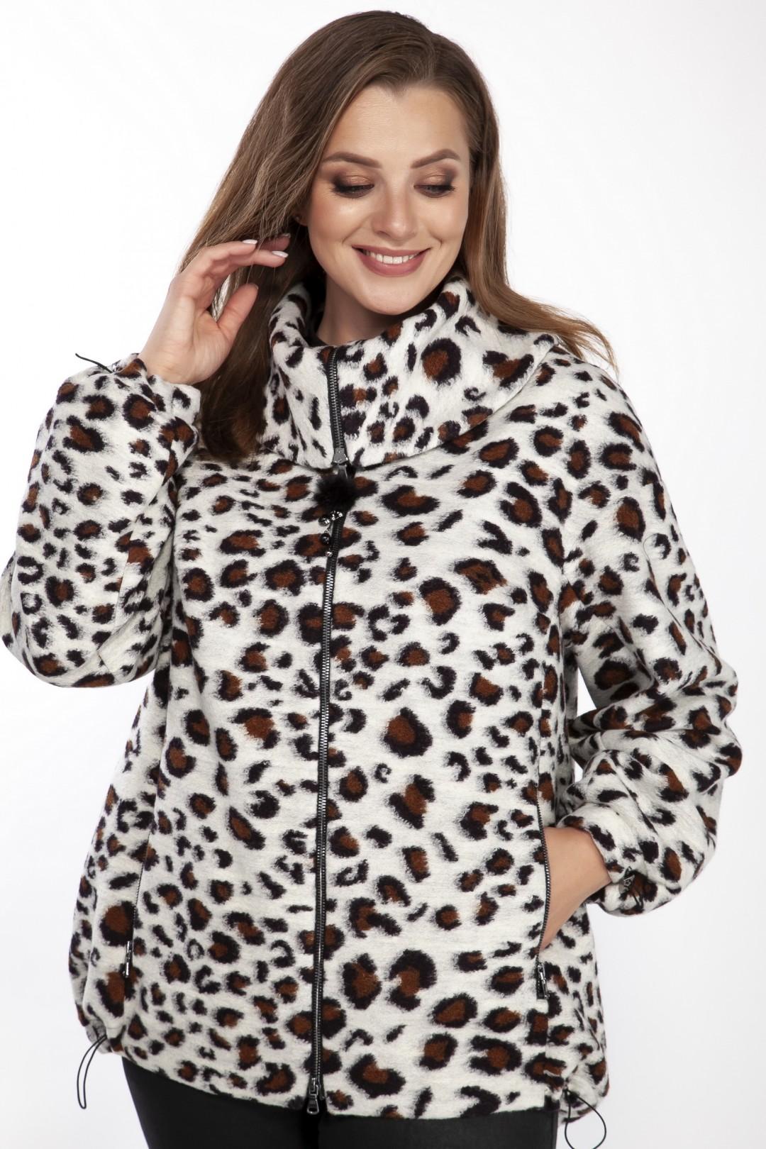 1410 серый леопард