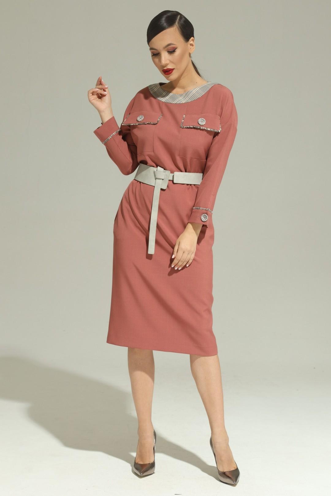 Платье Магия Моды 1947 марсала