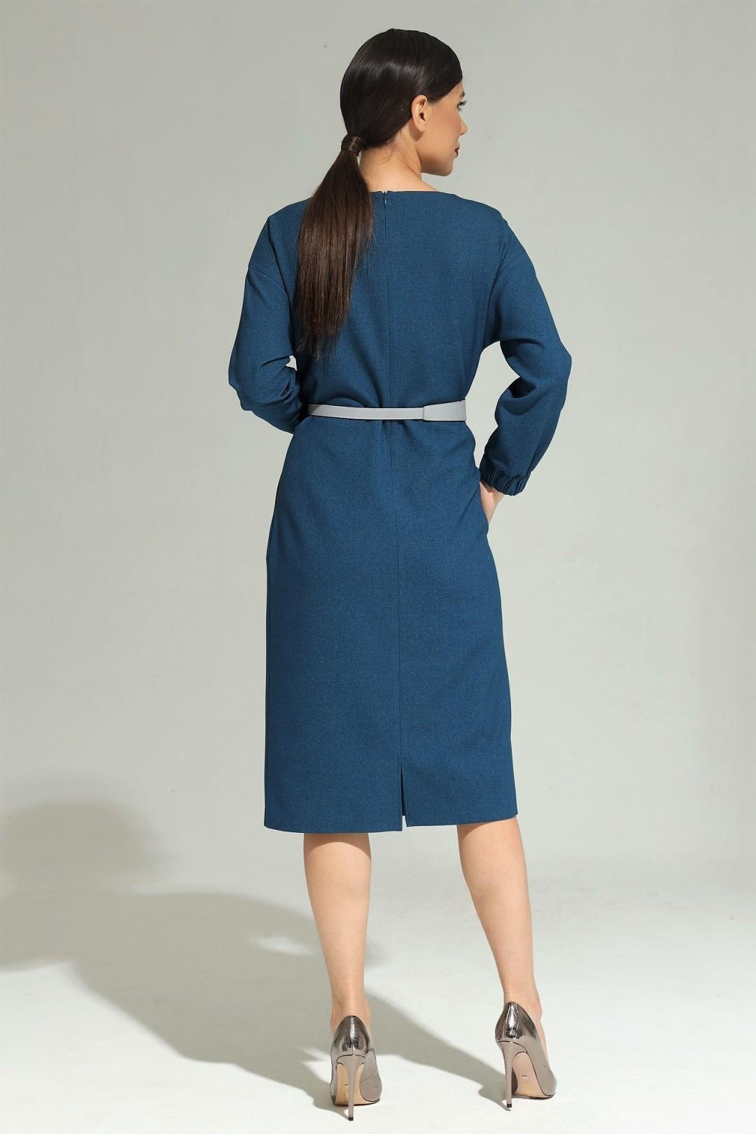 Платье Магия Моды 1980 синий