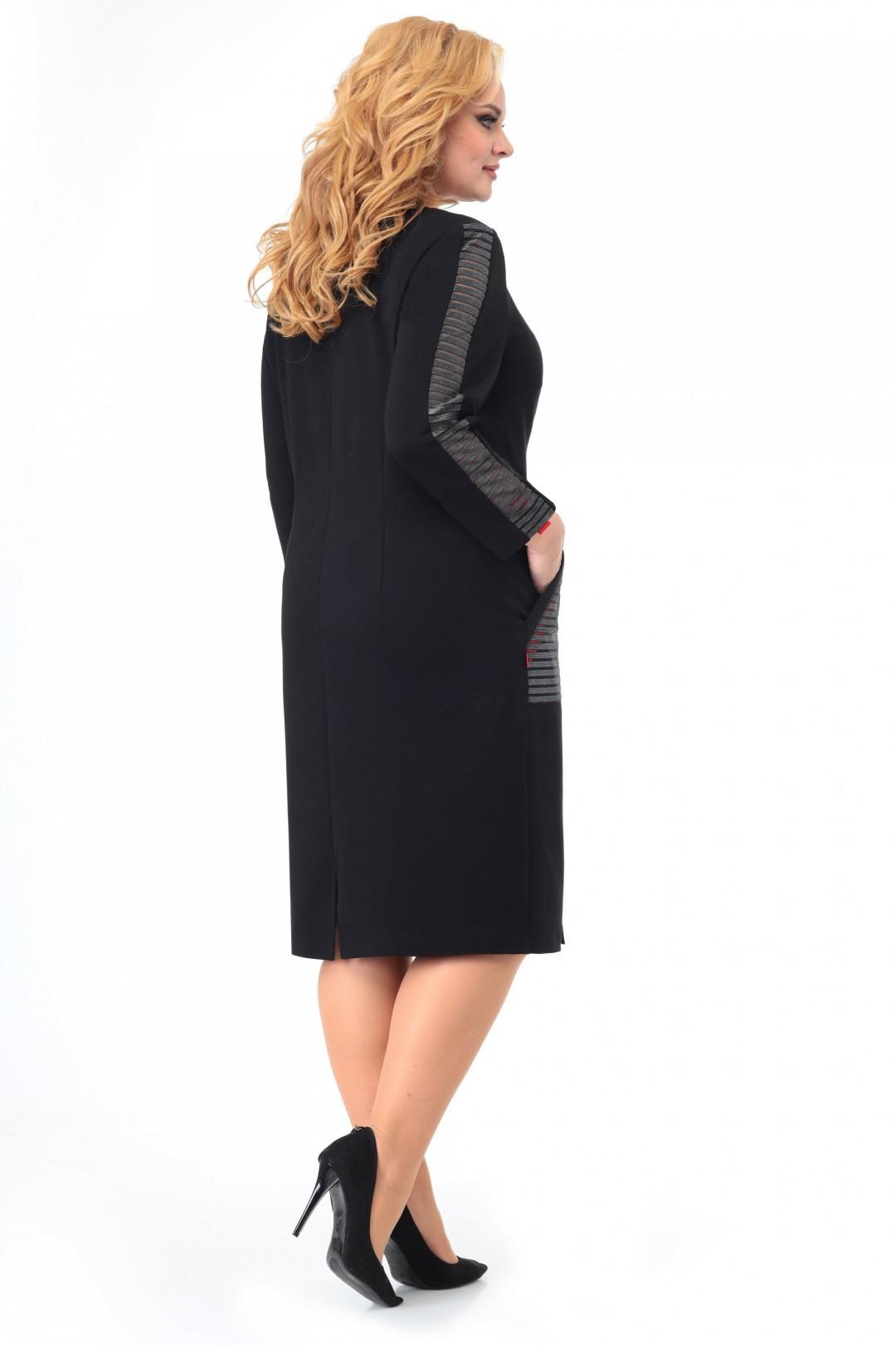 Платье МишельСтиль 999 черный