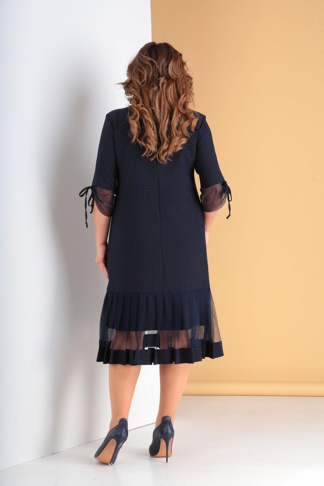Платье Мода-Версаль 2097 т.синий