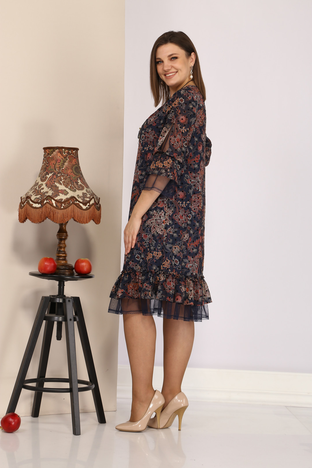 Платье Мода-Версаль 2205 т.синий