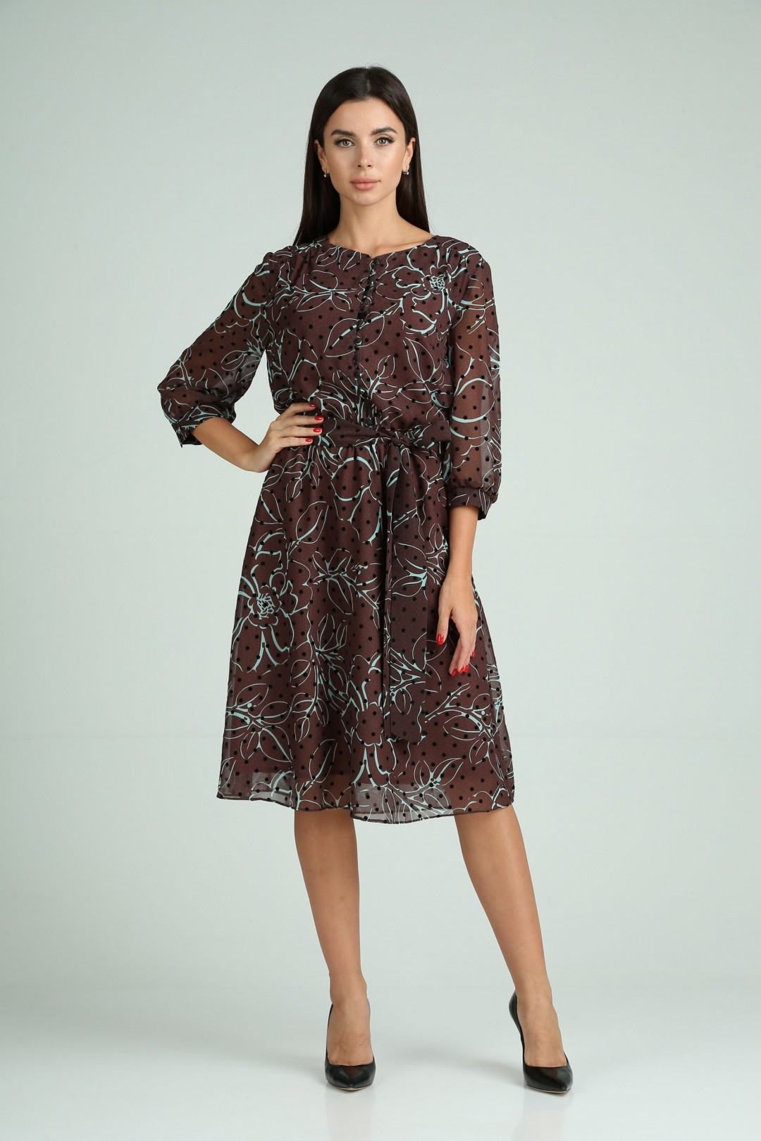 Платье Мода-Версаль 2318 коричневый