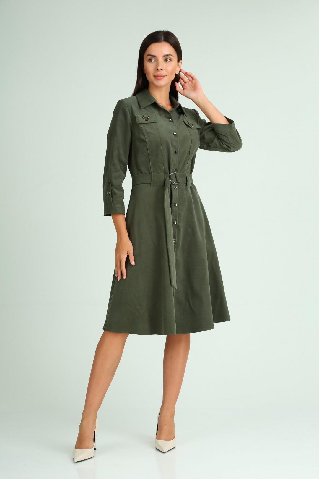 Платье Мода-Версаль 2343 зеленый