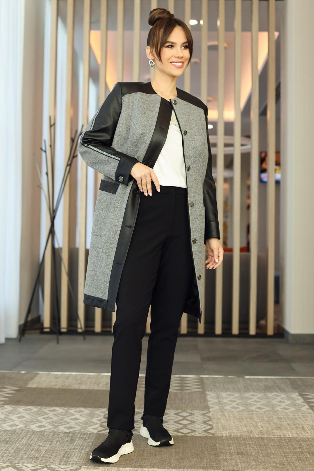 Кардиган Мода-Юрс 2597-1 серый