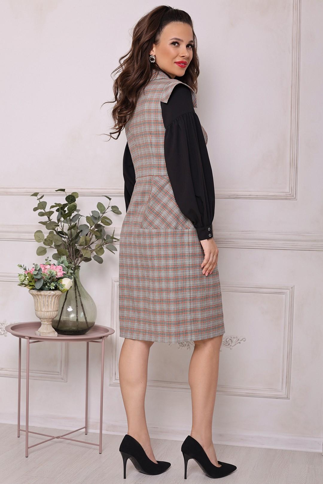 Комплект Мода-Юрс 2699 серый_клетка