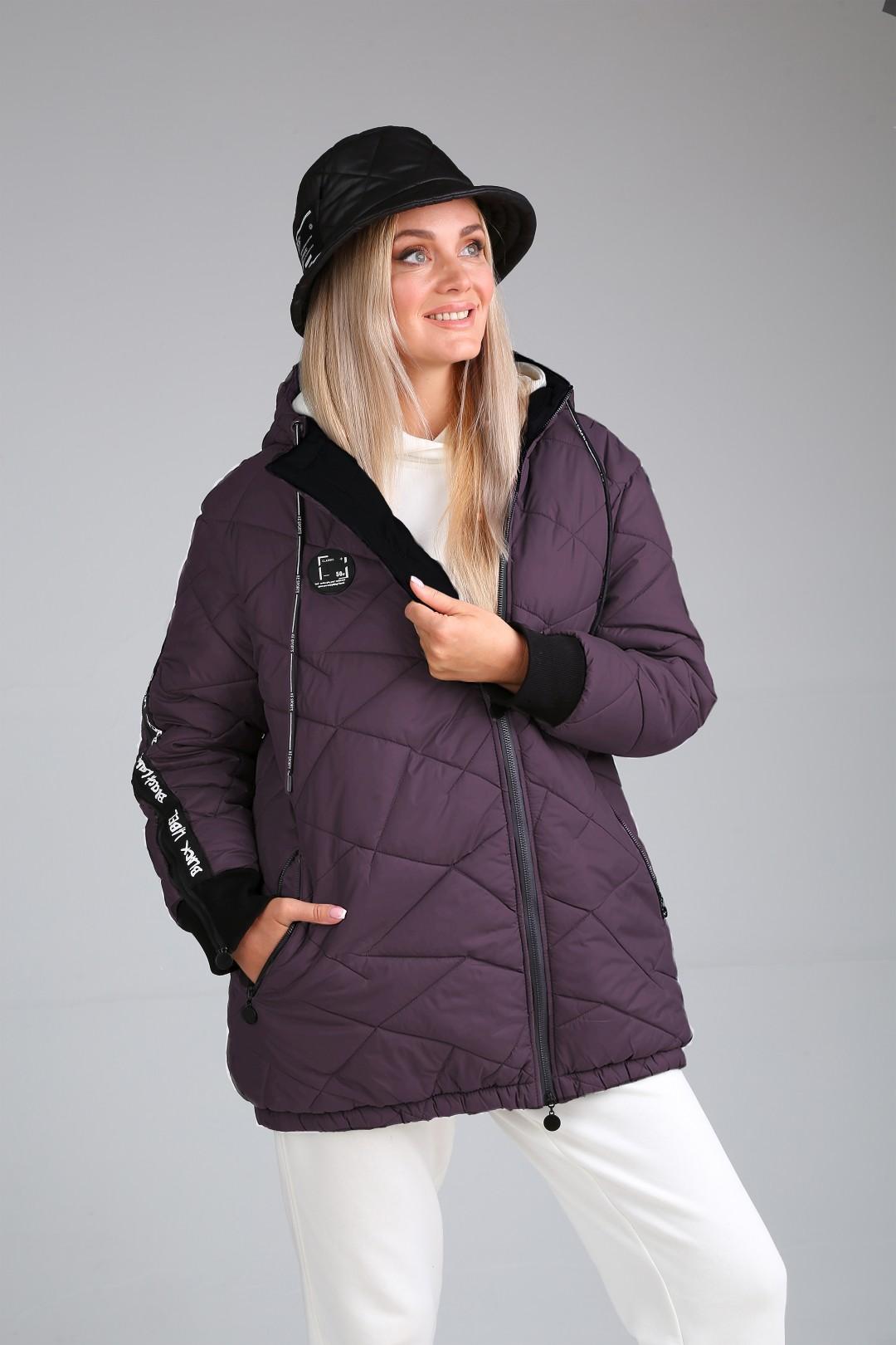 Куртка Мублиз 604 баклажан