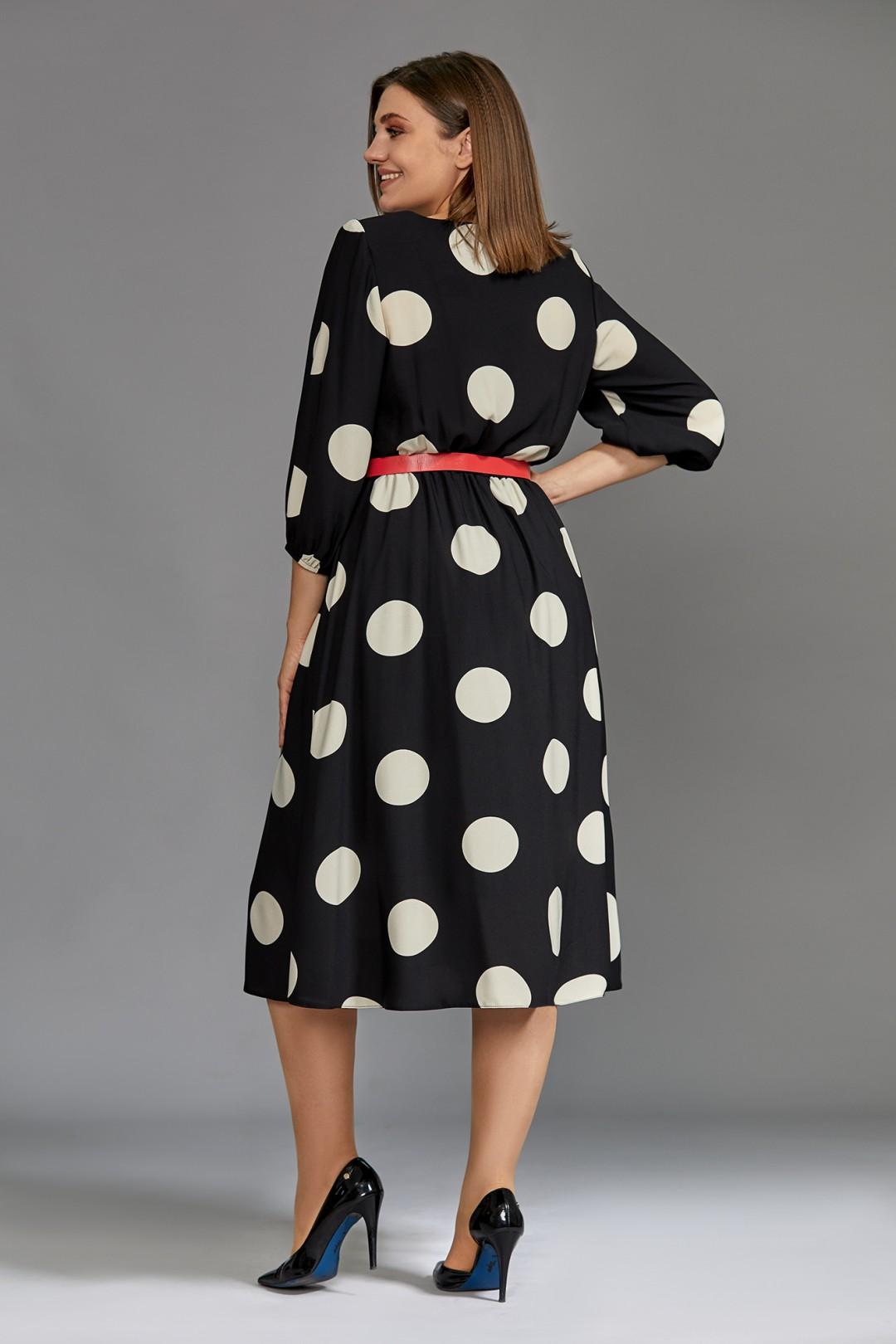 Платье Мублиз 608 черный