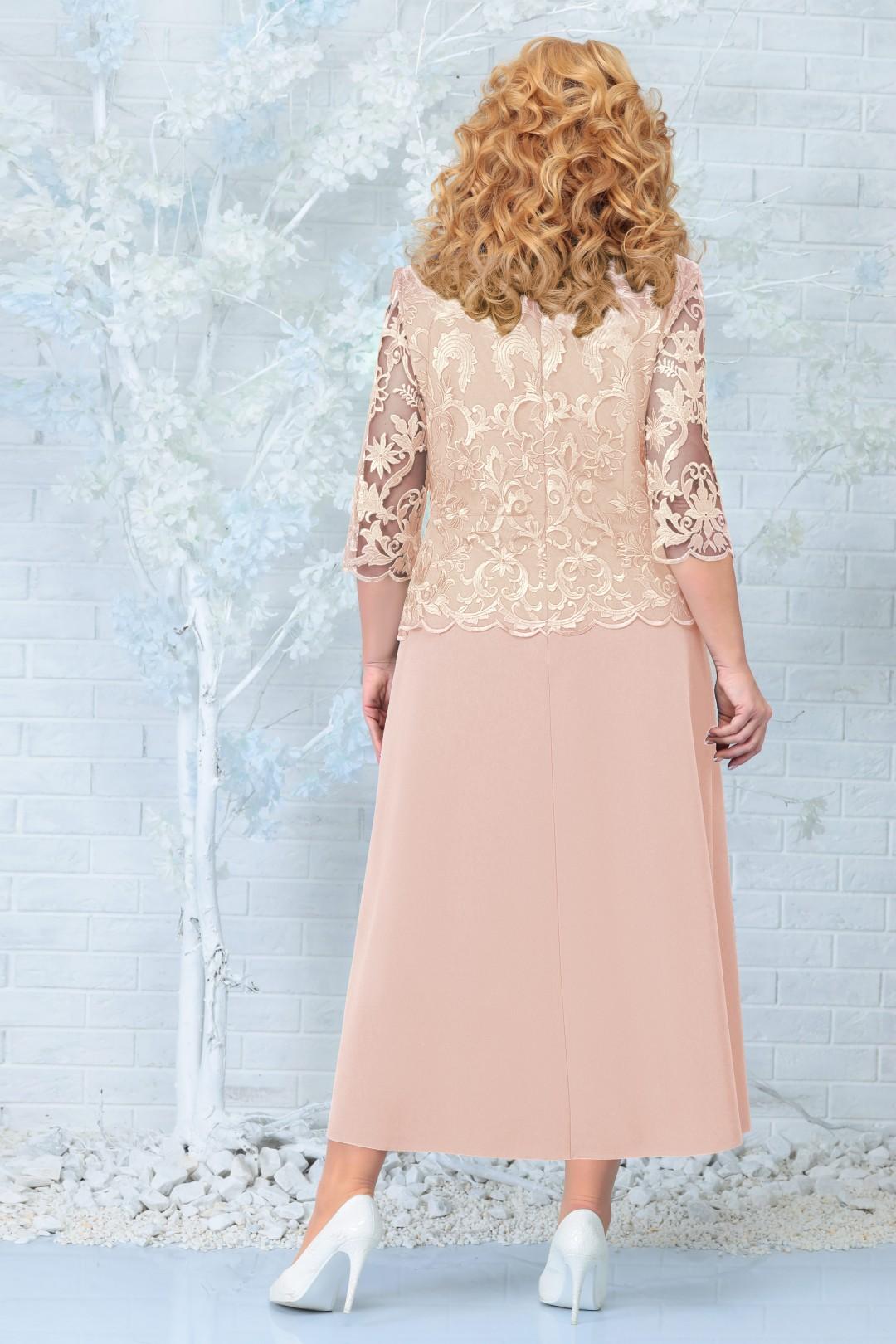 Платье Ninele 2306 бежевый