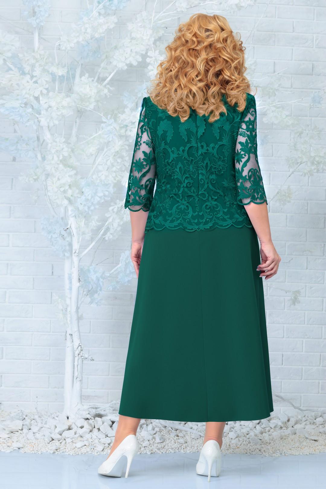Платье Ninele 2306 изумруд