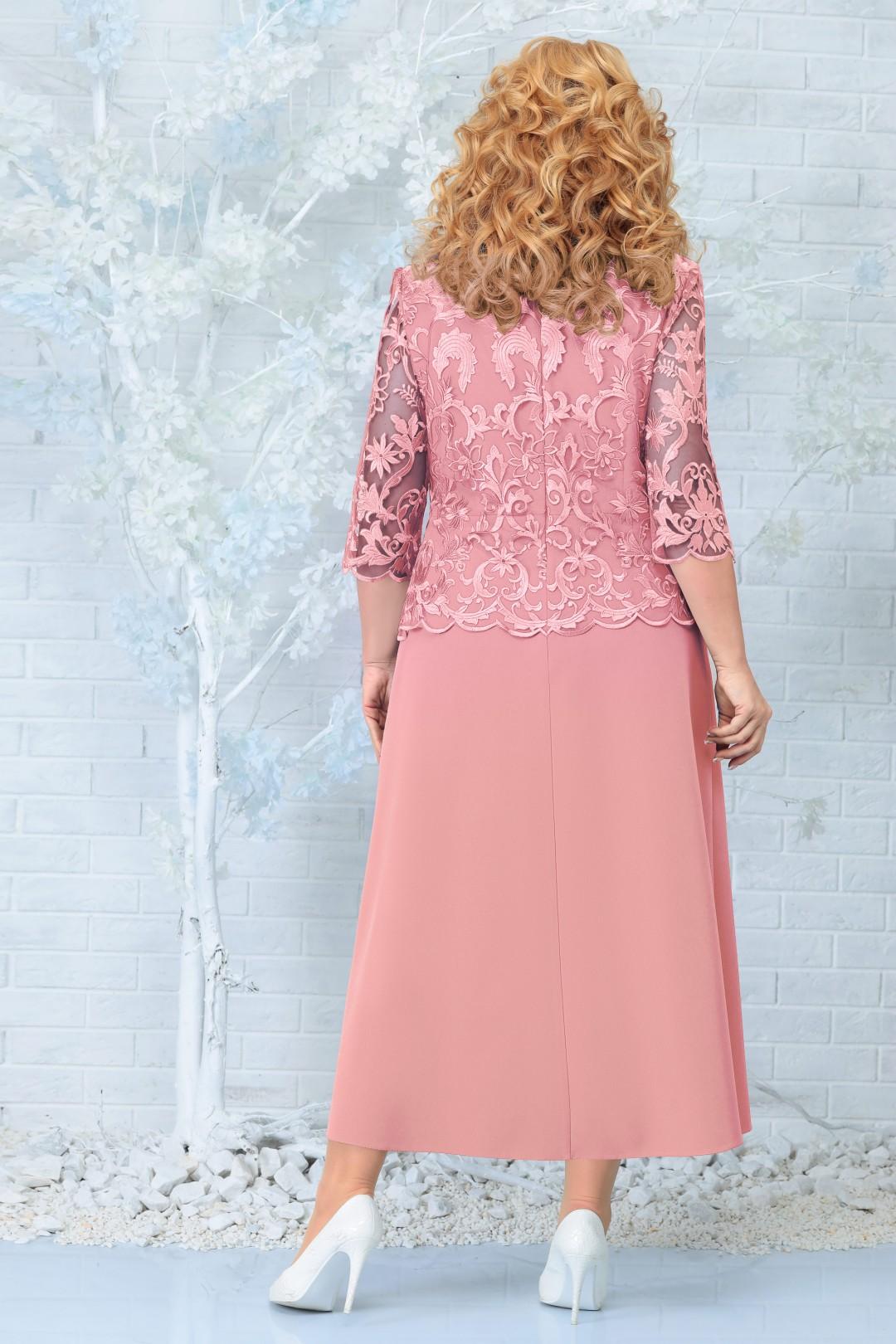 Платье Ninele 2306 темная пудра