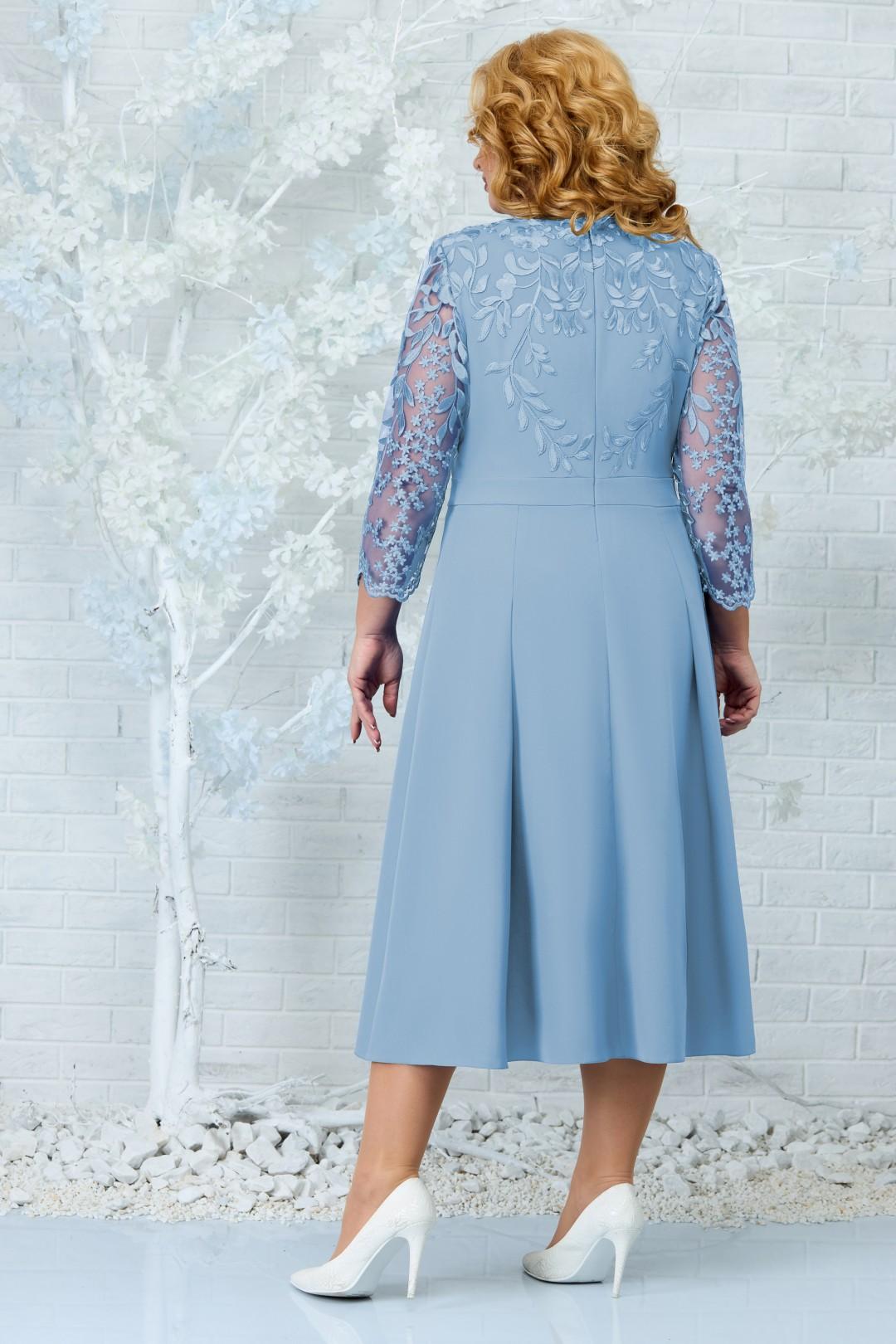 Платье Ninele 5847 голубой